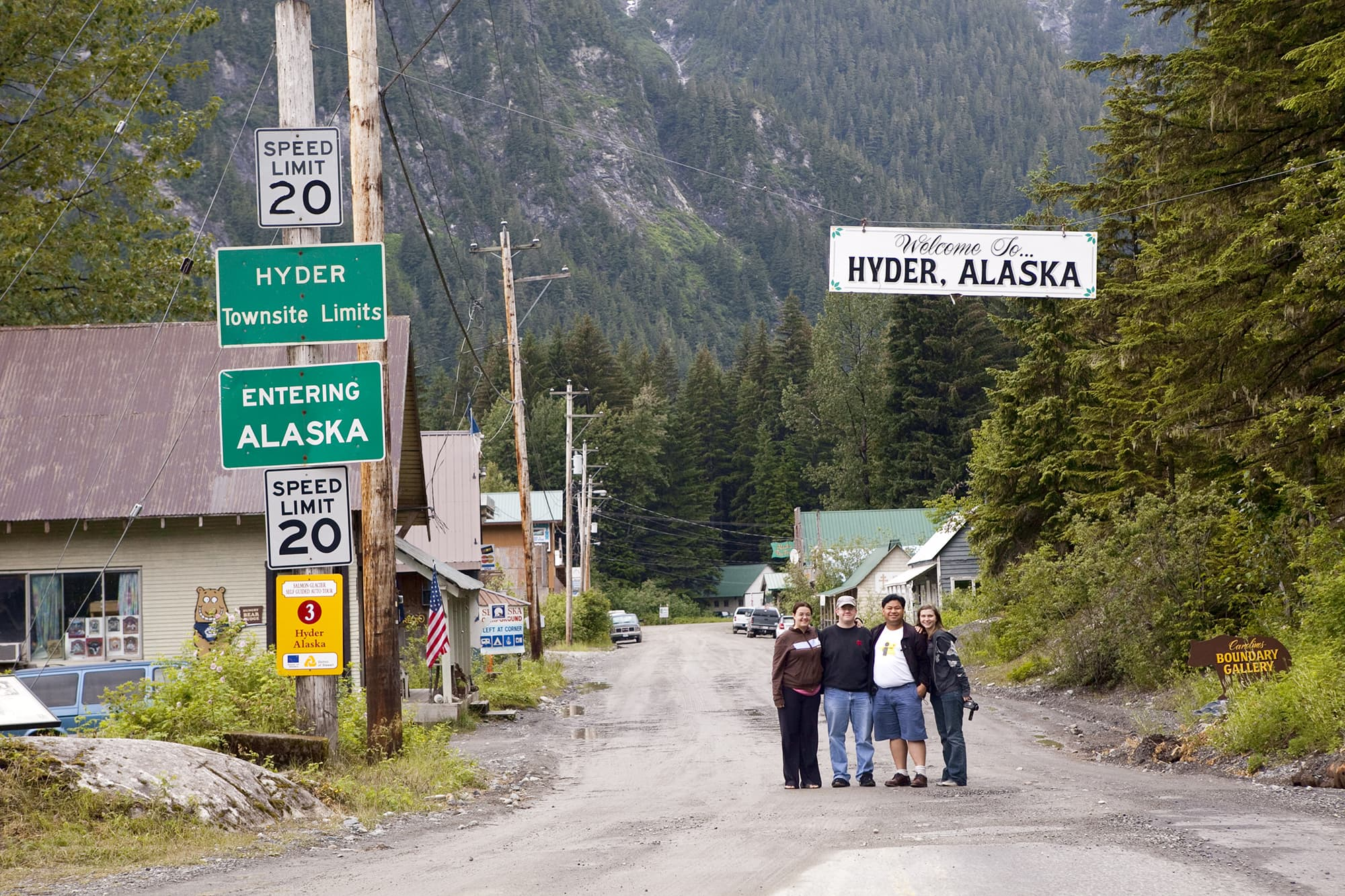 Welcome to Hyder, Alaska