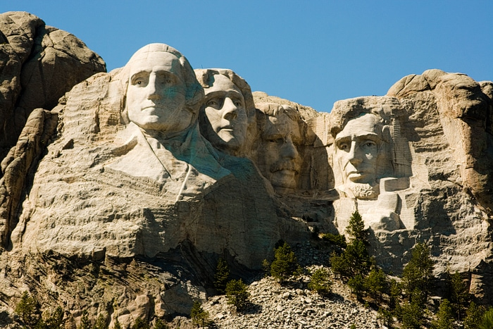 Road Trip To Mount Rushmore ::: Missing Face