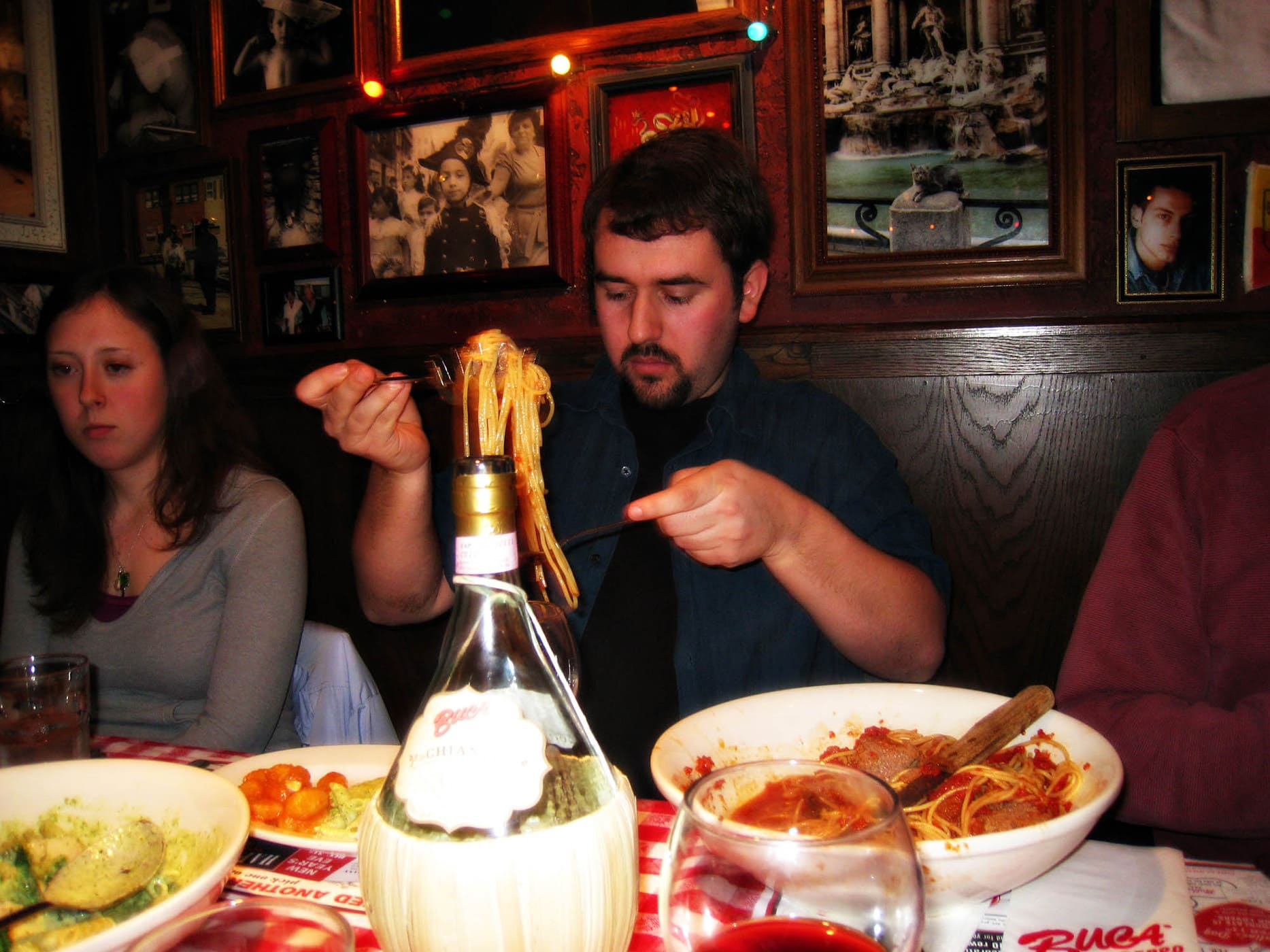 Alina's birthday party at Bucca di Beppo