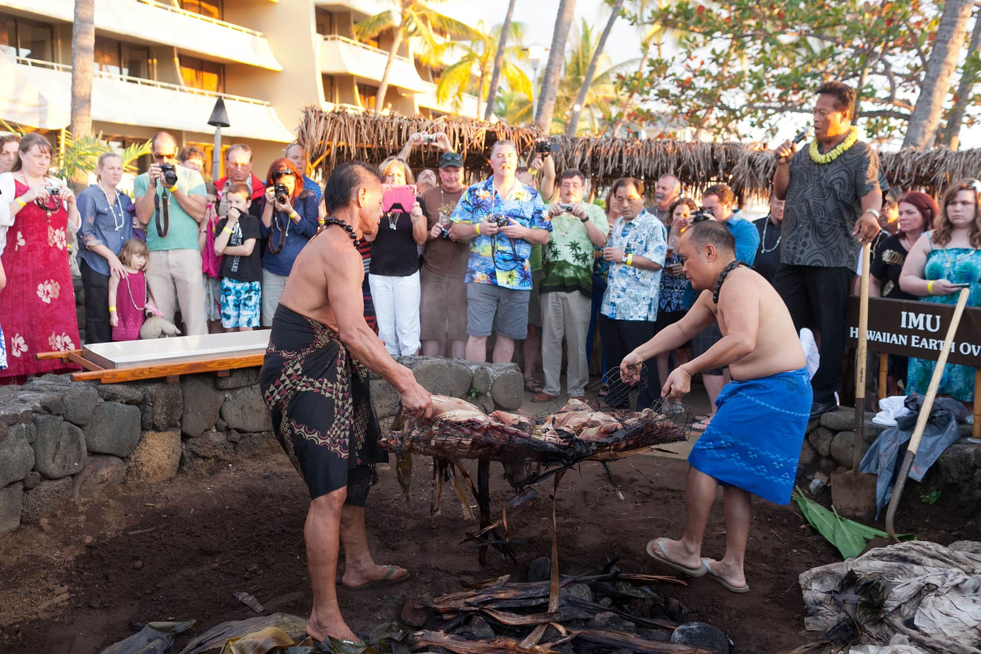 Hawaiian Luau on the Big Island in Hawaii.