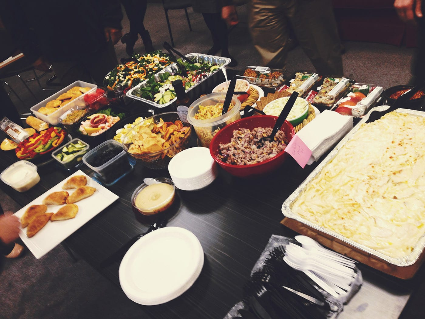 Work Pot Luck.