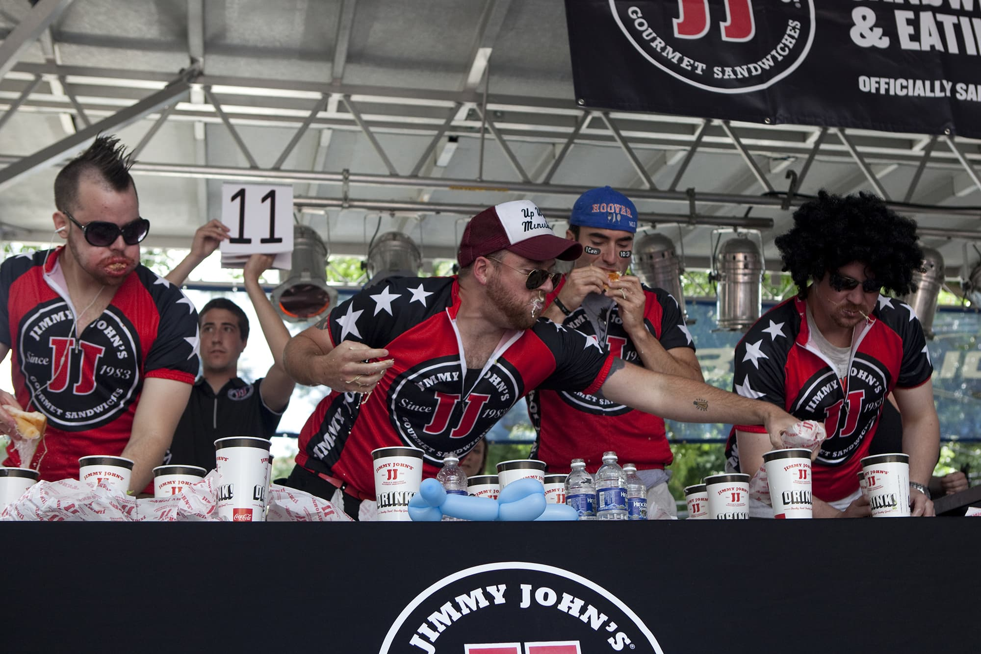 Jimmy John's Freaky Fast Sandwich Eating Contest