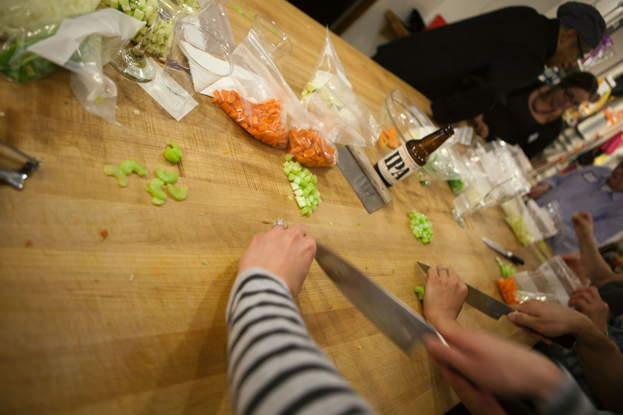 Knife Skills Class at The Chopping Block