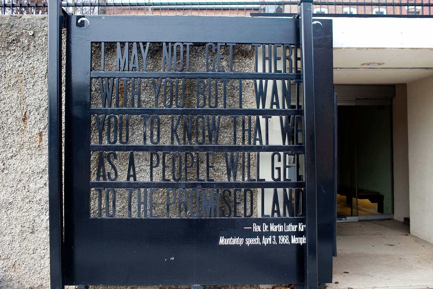 National Civil Rights Museum in Memphis, Tennessee.