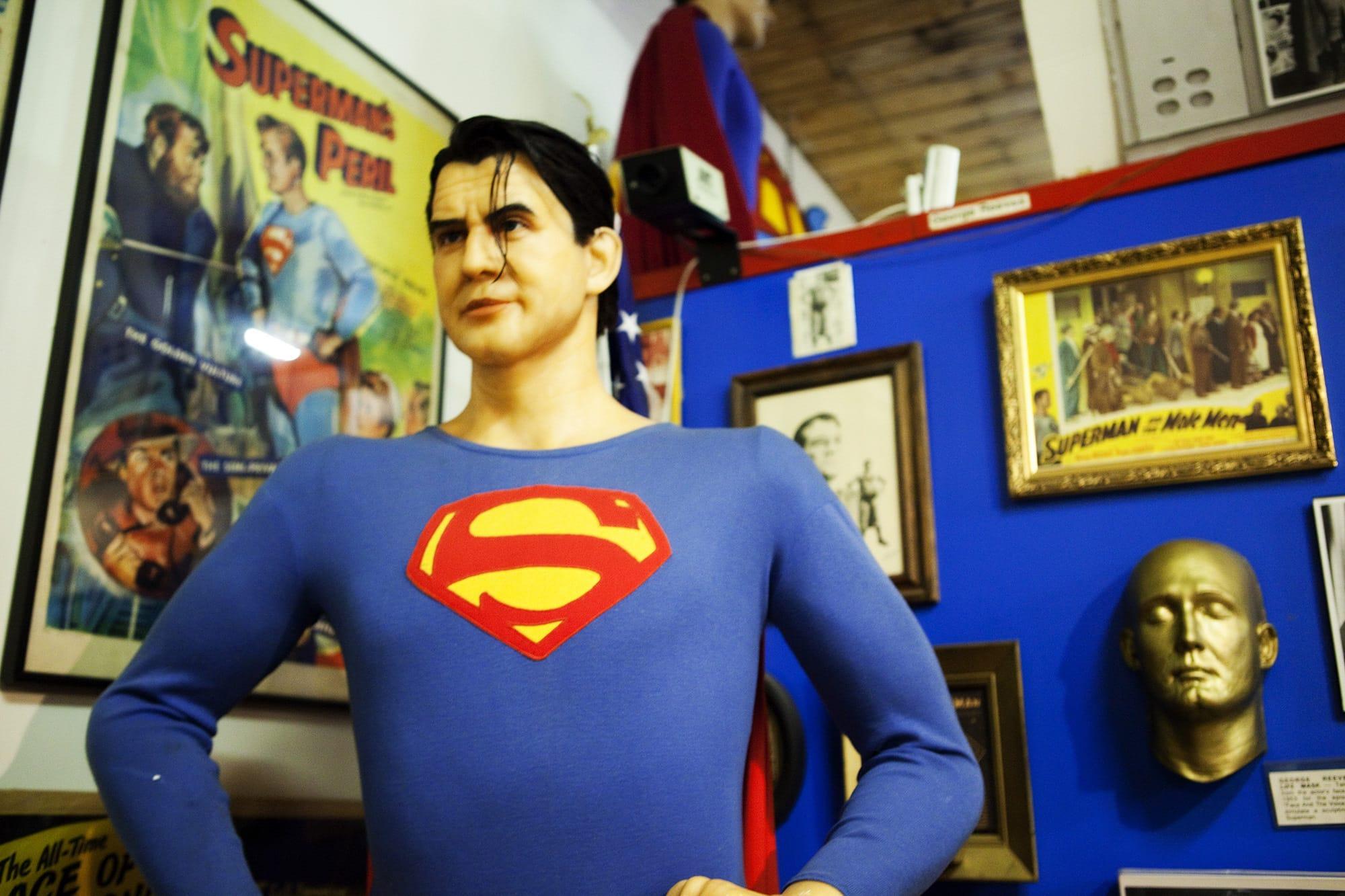 Superman Museum in Metropolis, Illinois