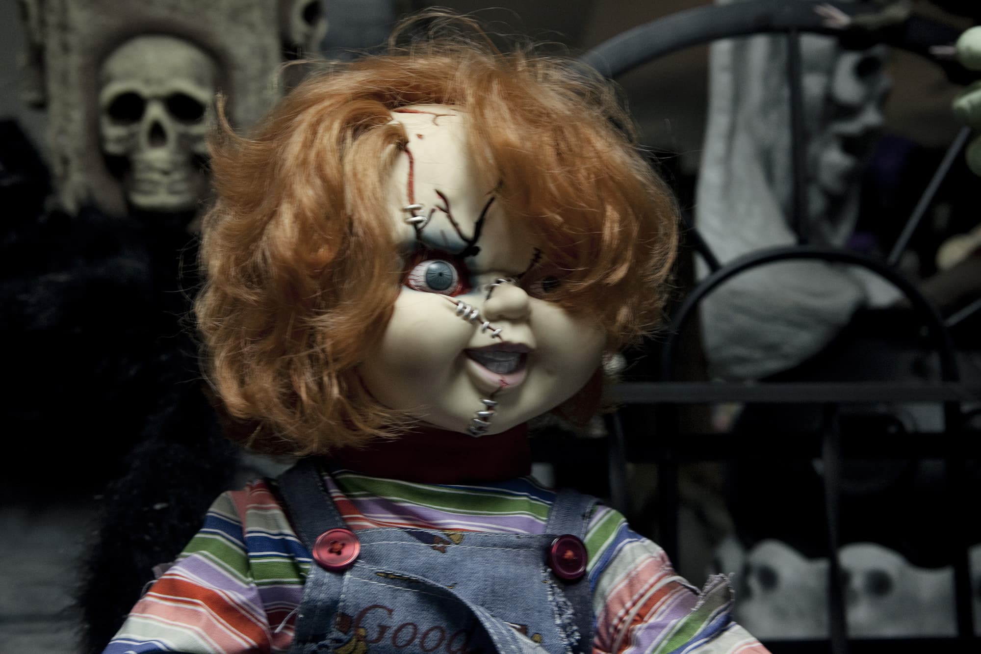 Chucky at The Americana Hollywood Museum in Metropolis, Illinois