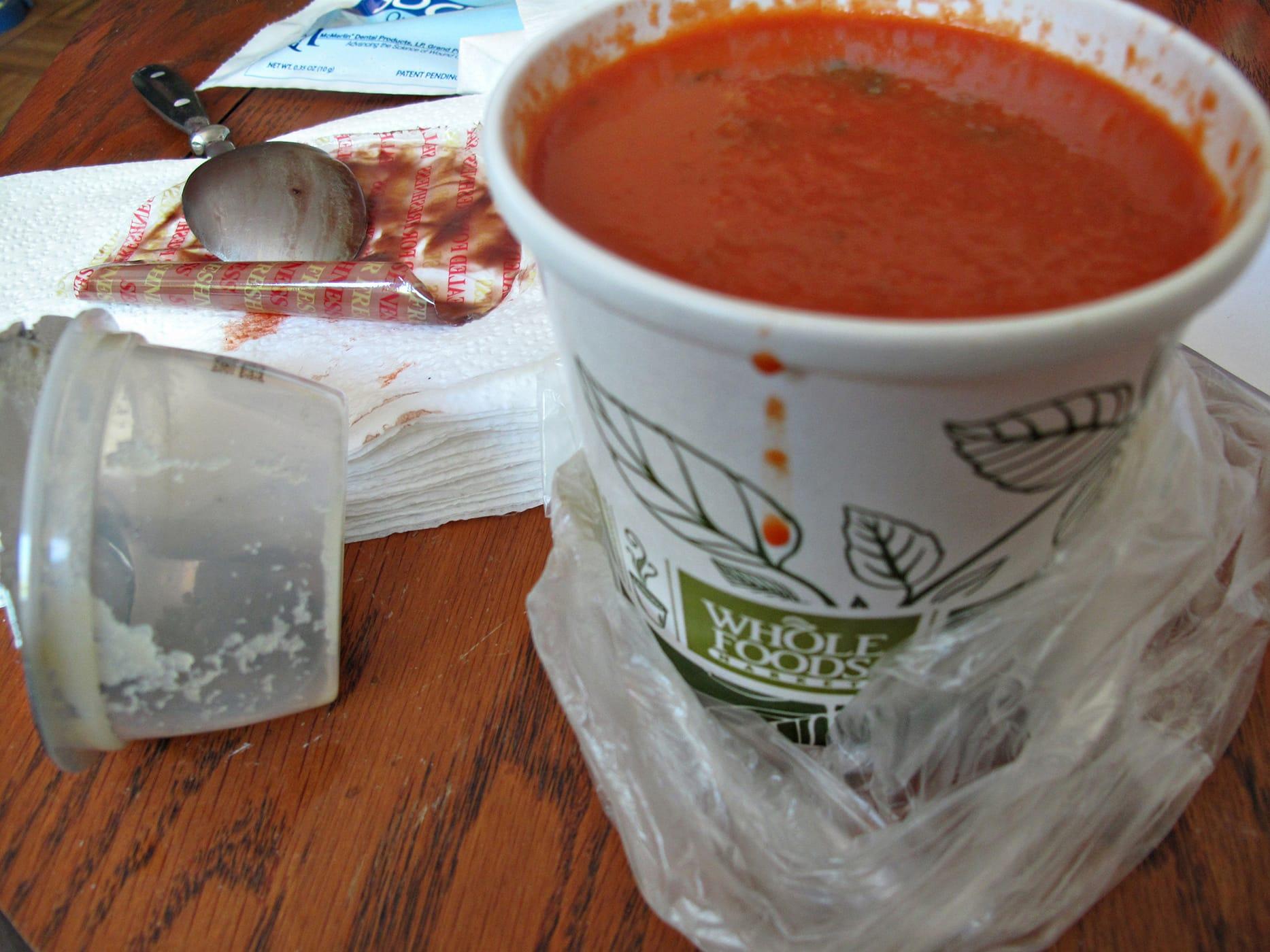 wisdom tooth diet - tomato sou