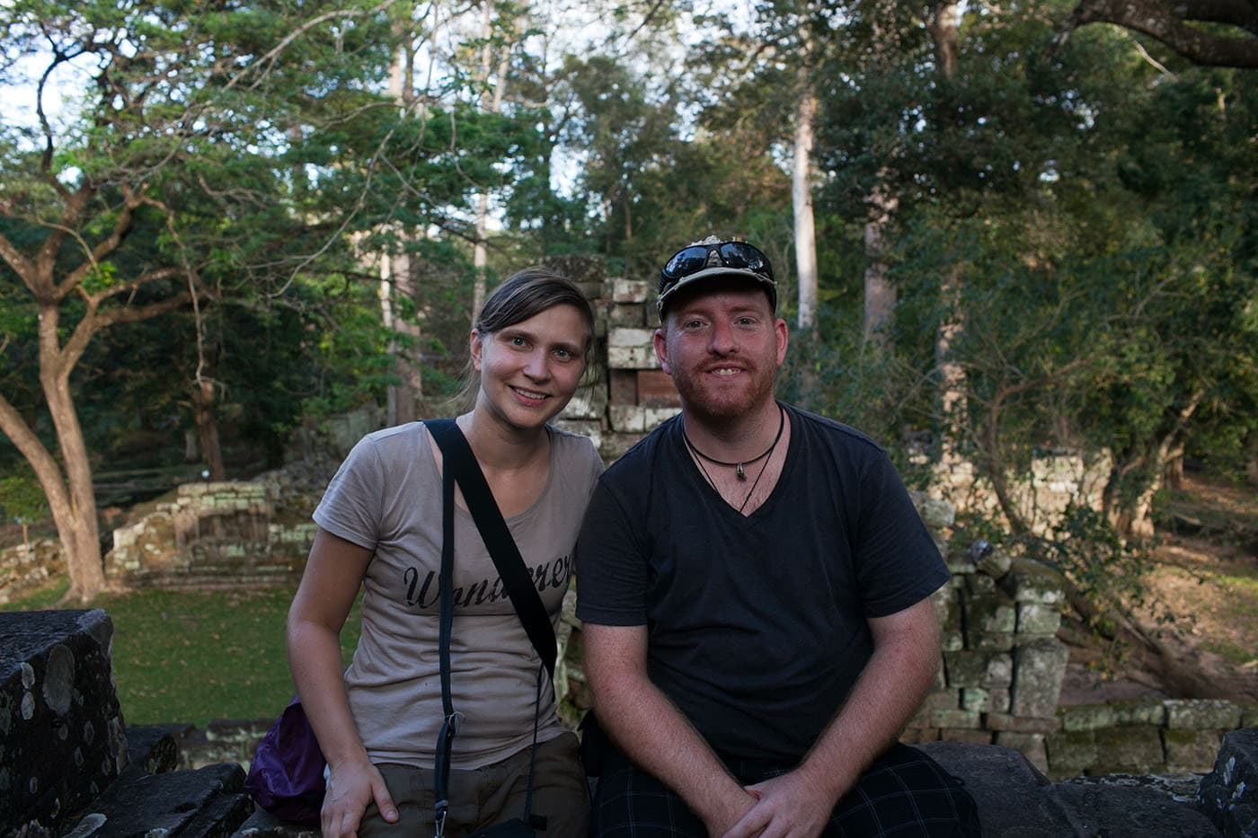 Angkor Wat with Corey.