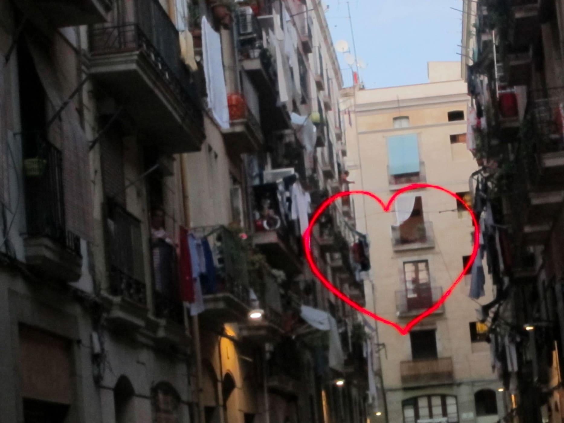 Heart in Barcelona