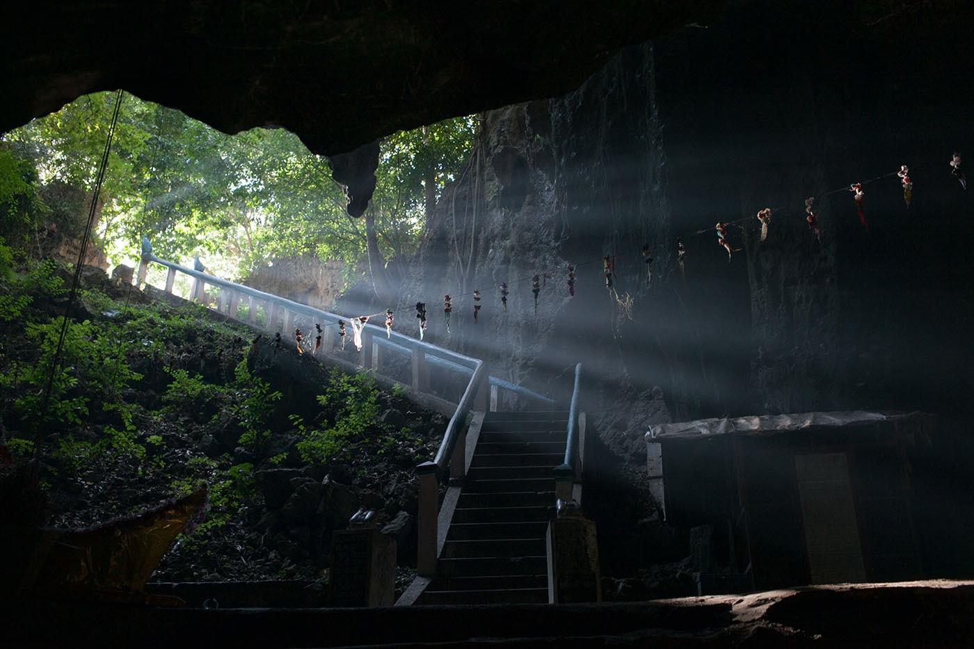 Killing cave in Battambang, Cambodia