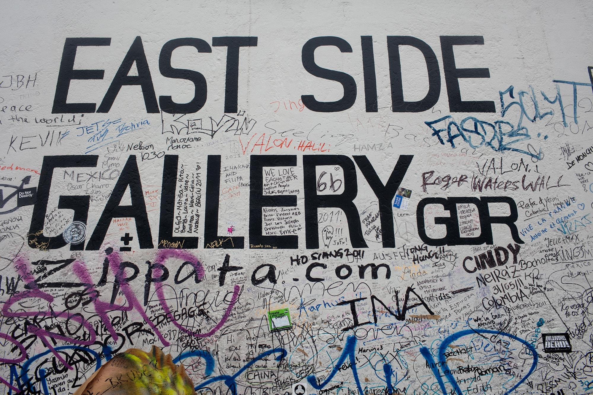 East Side Gallery in Berlin