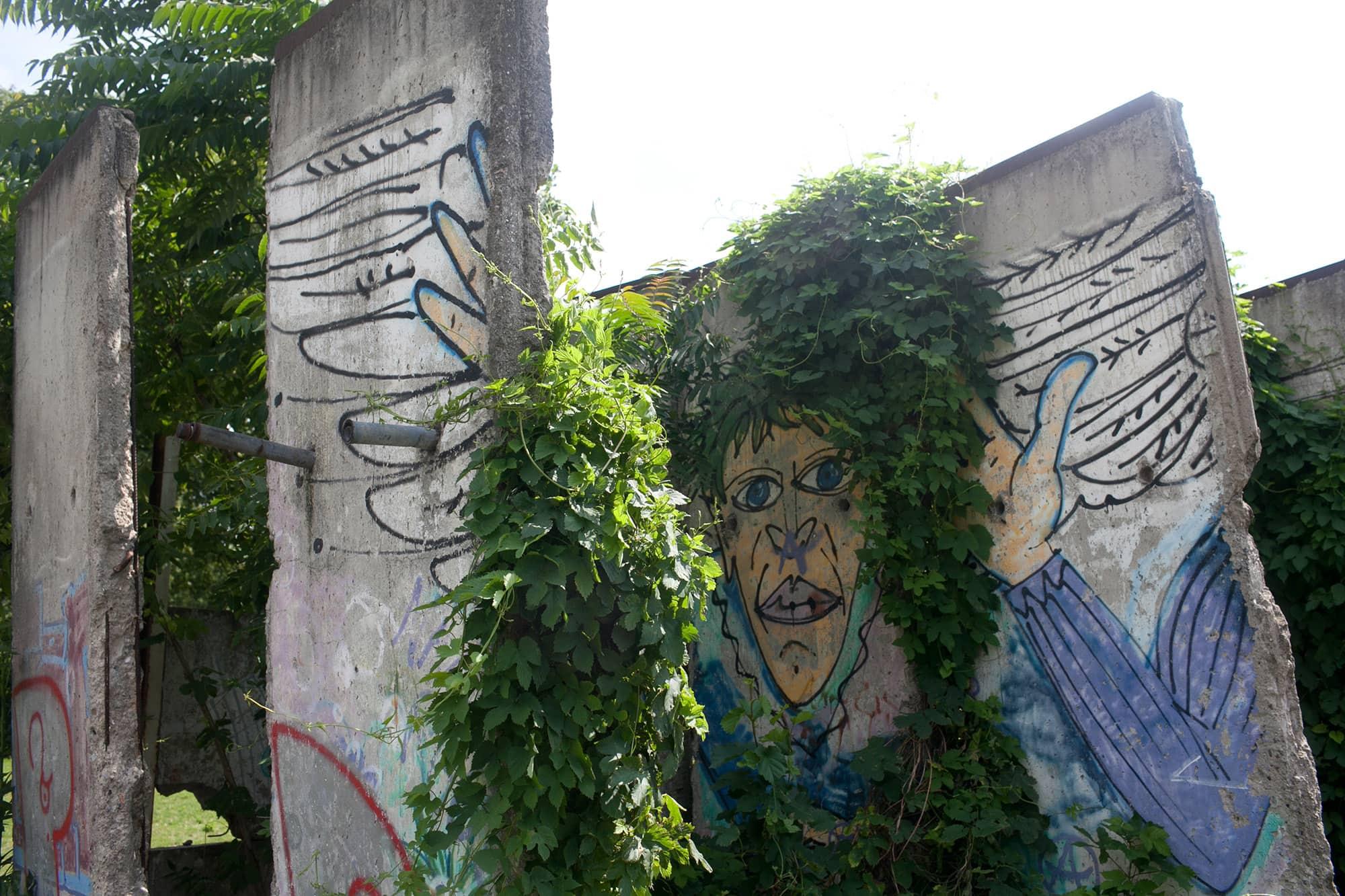 Wall documentation center in Berlin