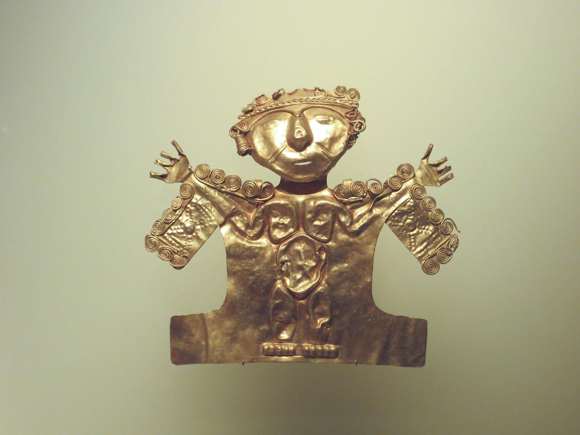 Museo de Oro in Bogota, Colombia