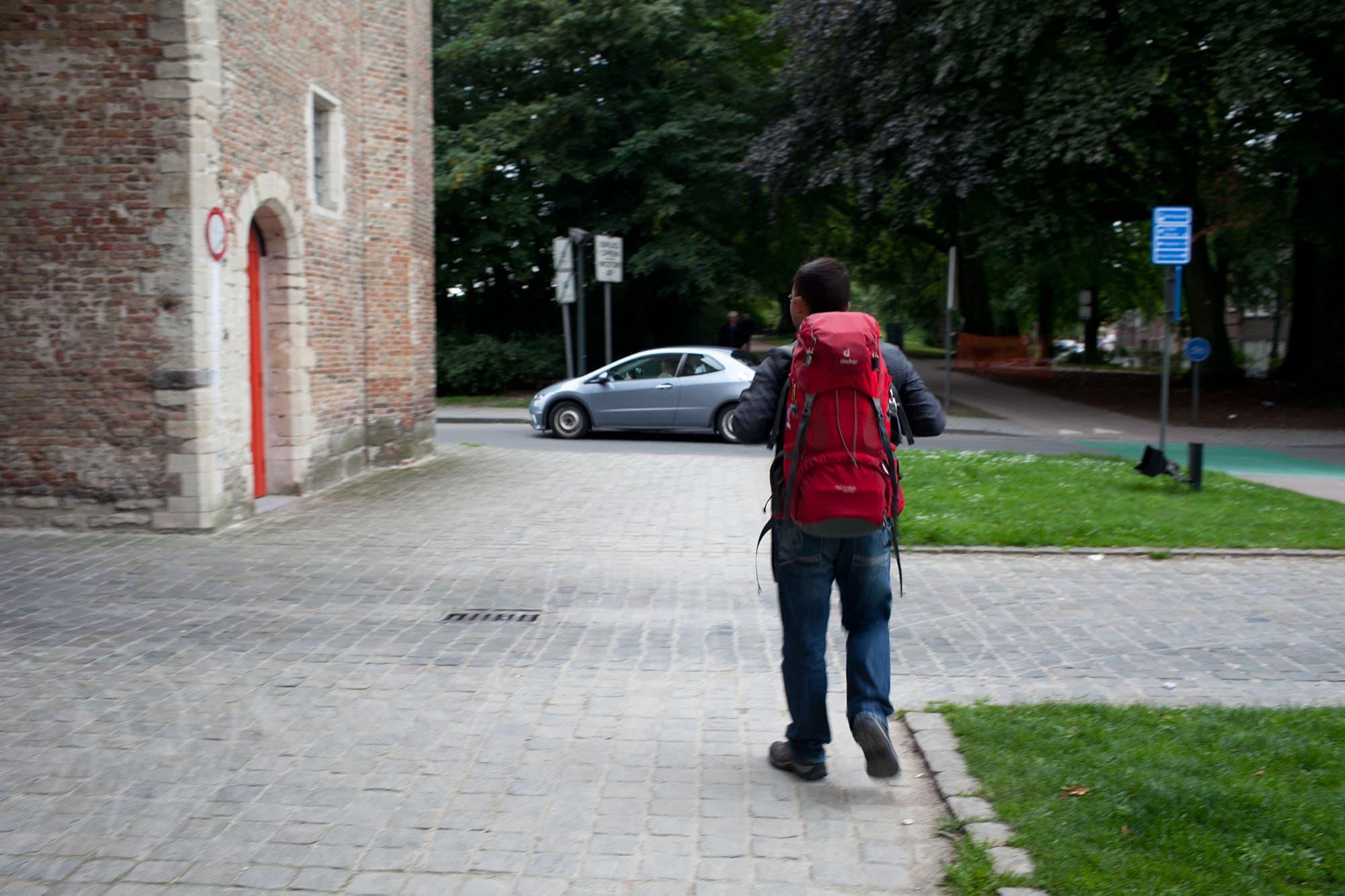 Jaime leaves Bruges, Belgium