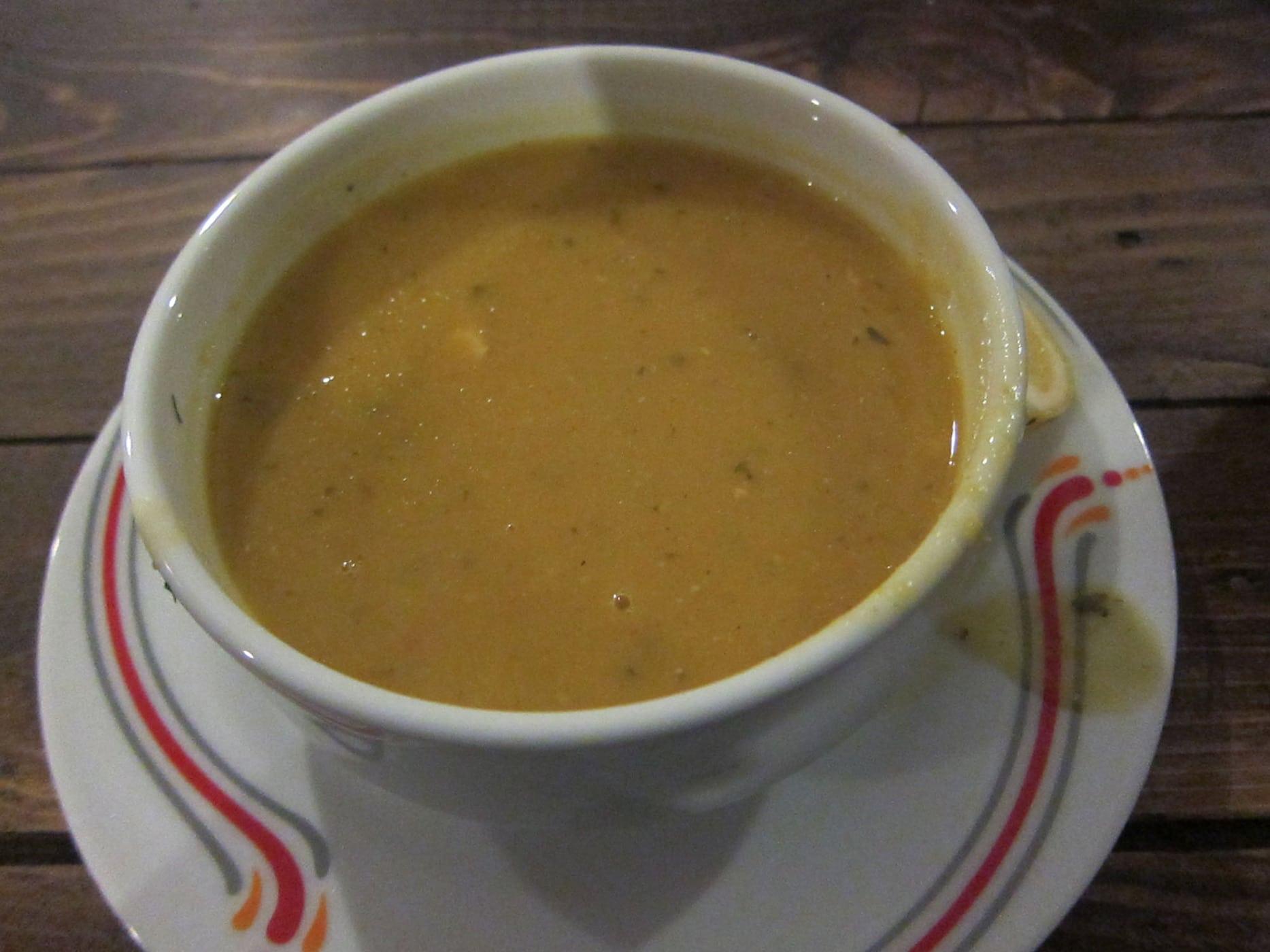 Lentil soup in Cappadocia, Turkey