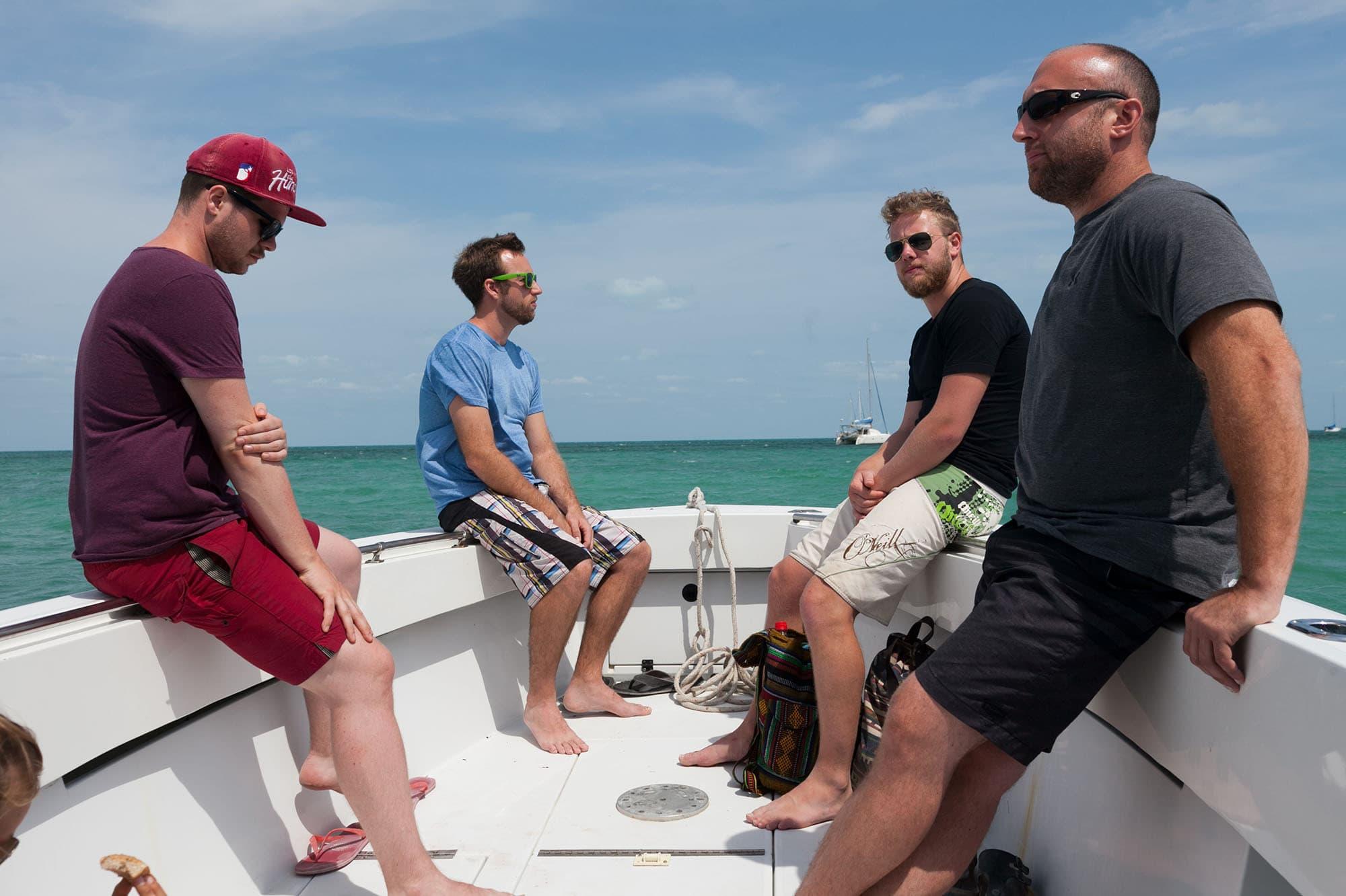 Fishing trip in Caye Caulker, Belize