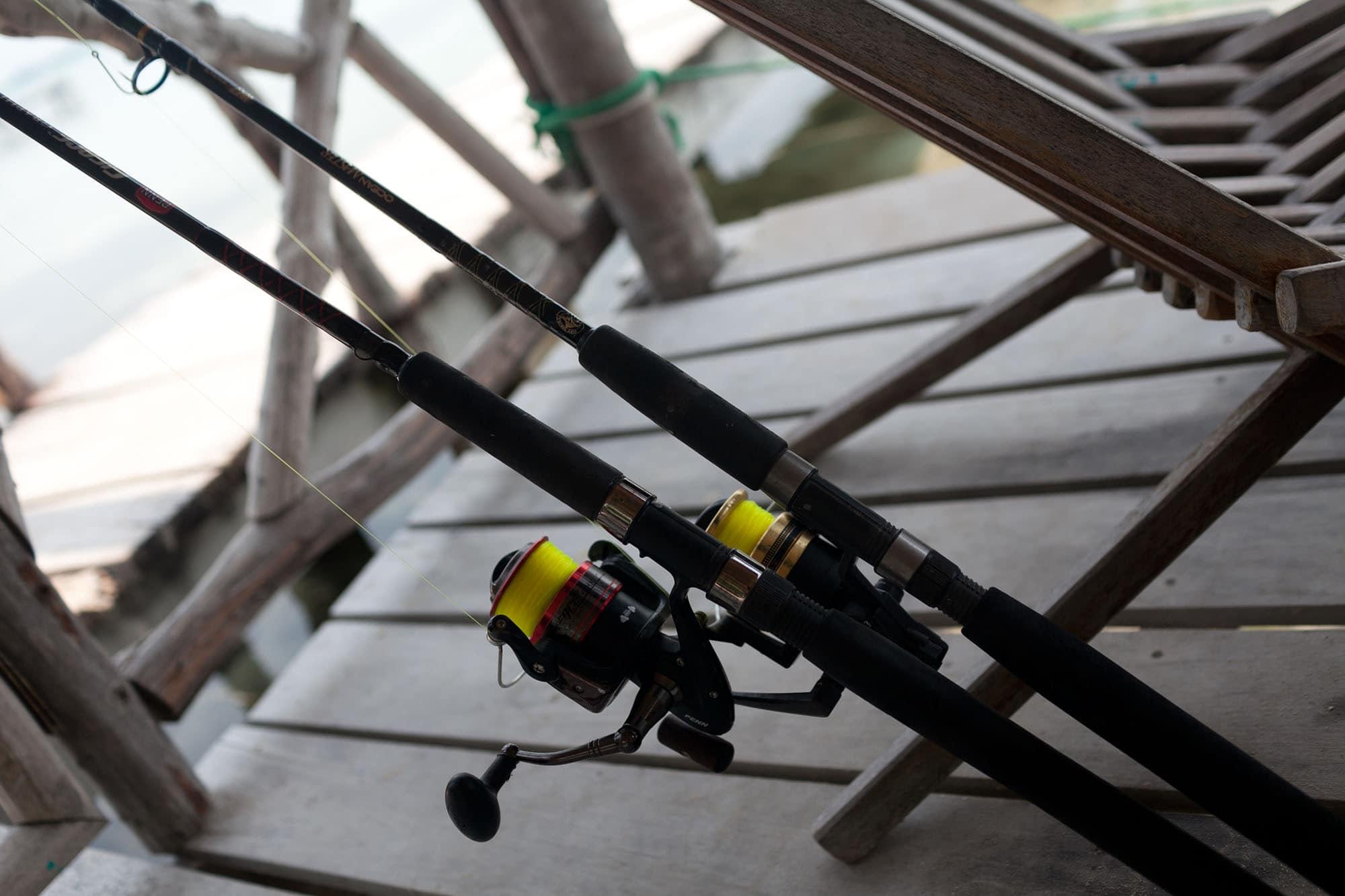 Fishing in Caye Caulker, Belize
