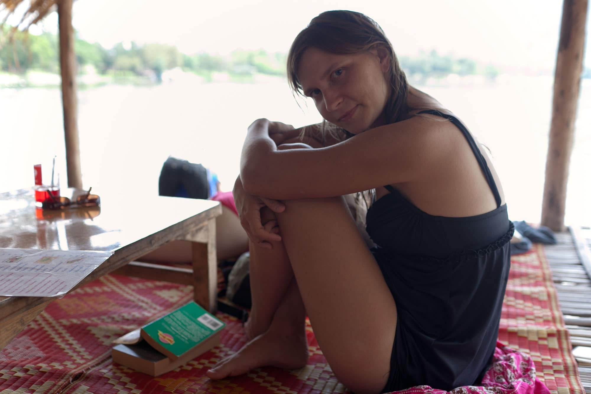 Huay Tung Tao Lake in Chiang Mai, Thailand.