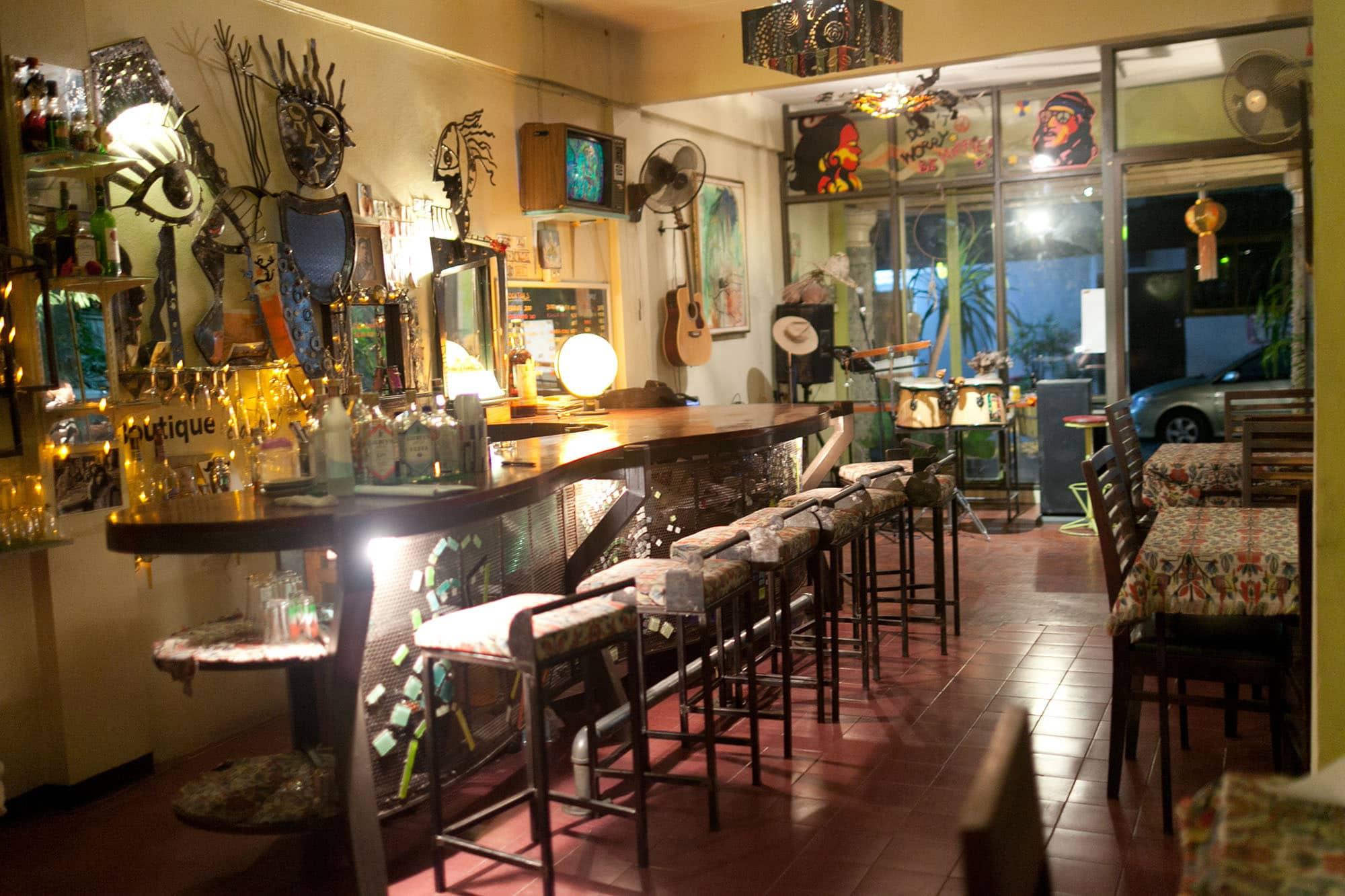 Taku bar in Chiang Mai, Thailand