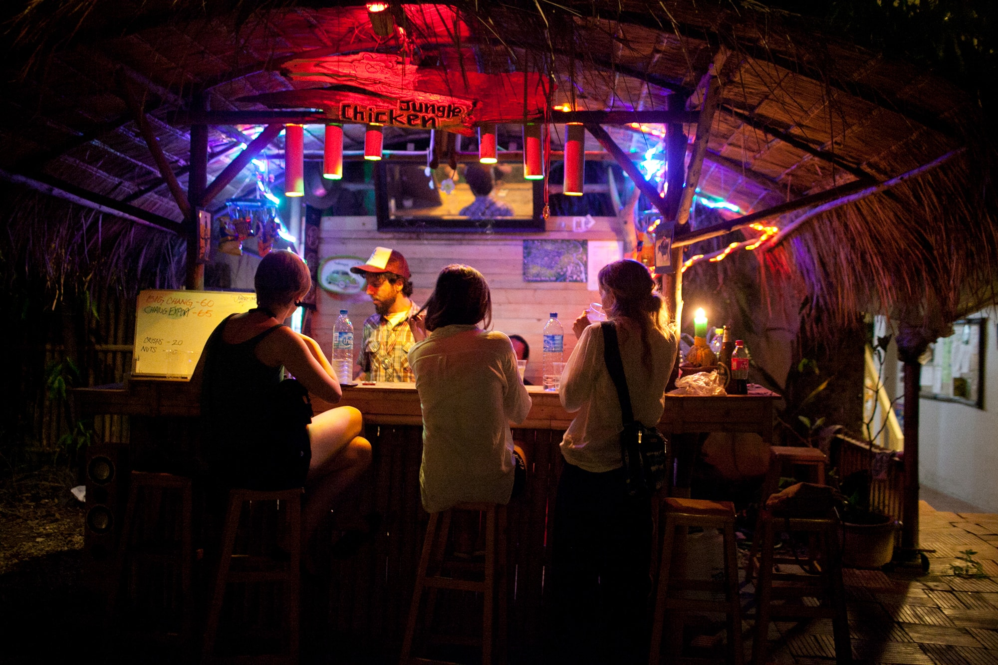Fourth of July at Deejai Backpackers in Chiang Mai, Thailand