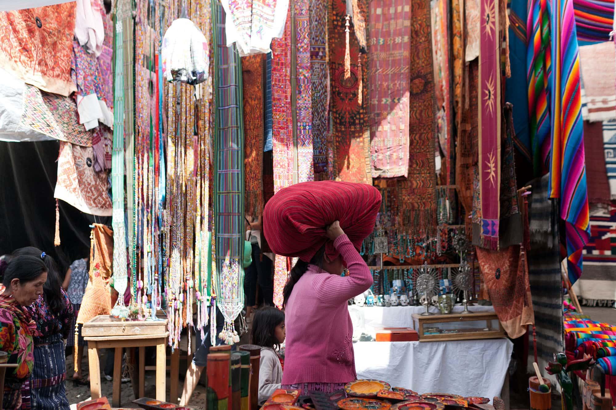 Chichicastenango Market in Guatemala
