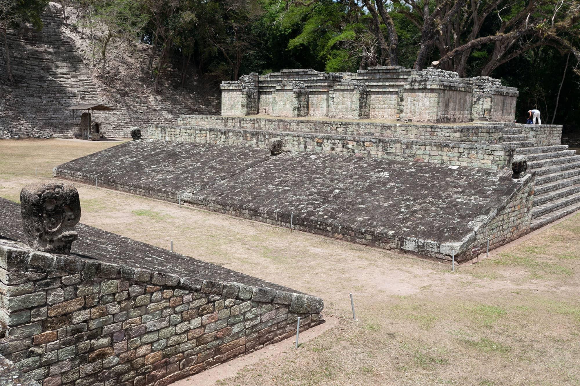 Mayan ruins of Copan in Honduras