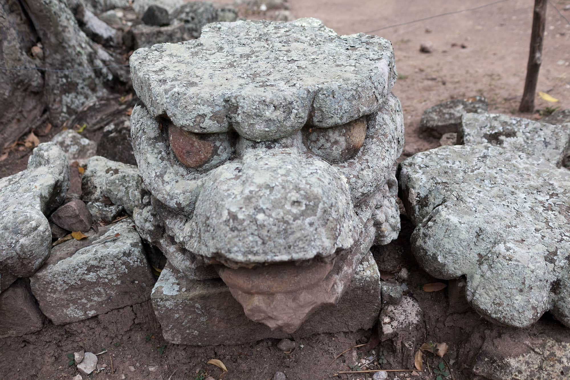 Mayan ruins of Copan in Honduras