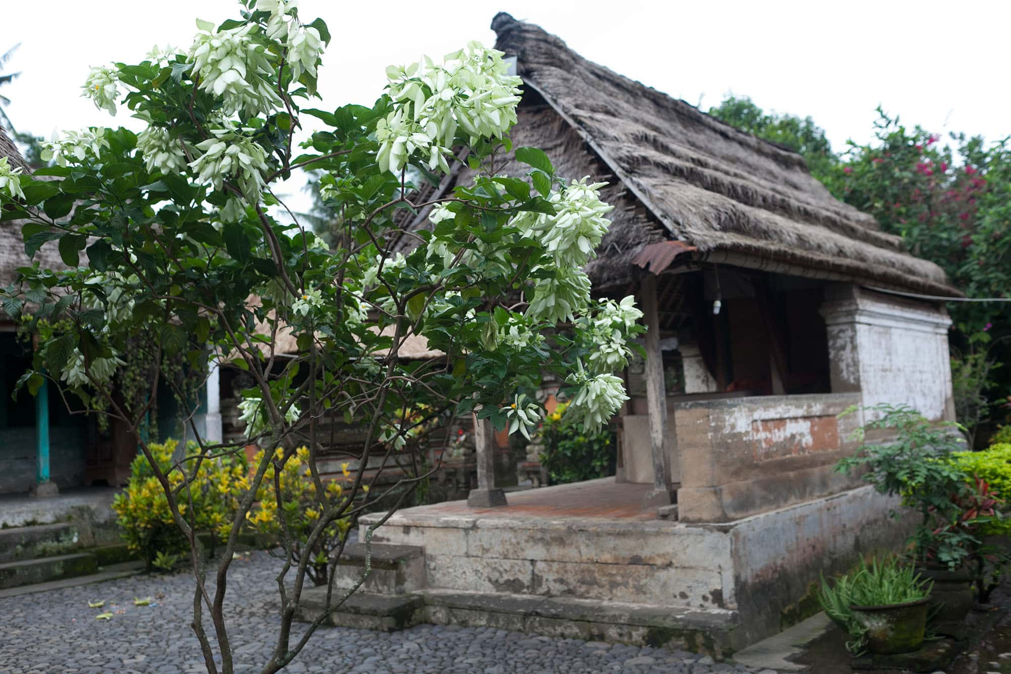 Traditional Balinese House in Bali, Indonesia