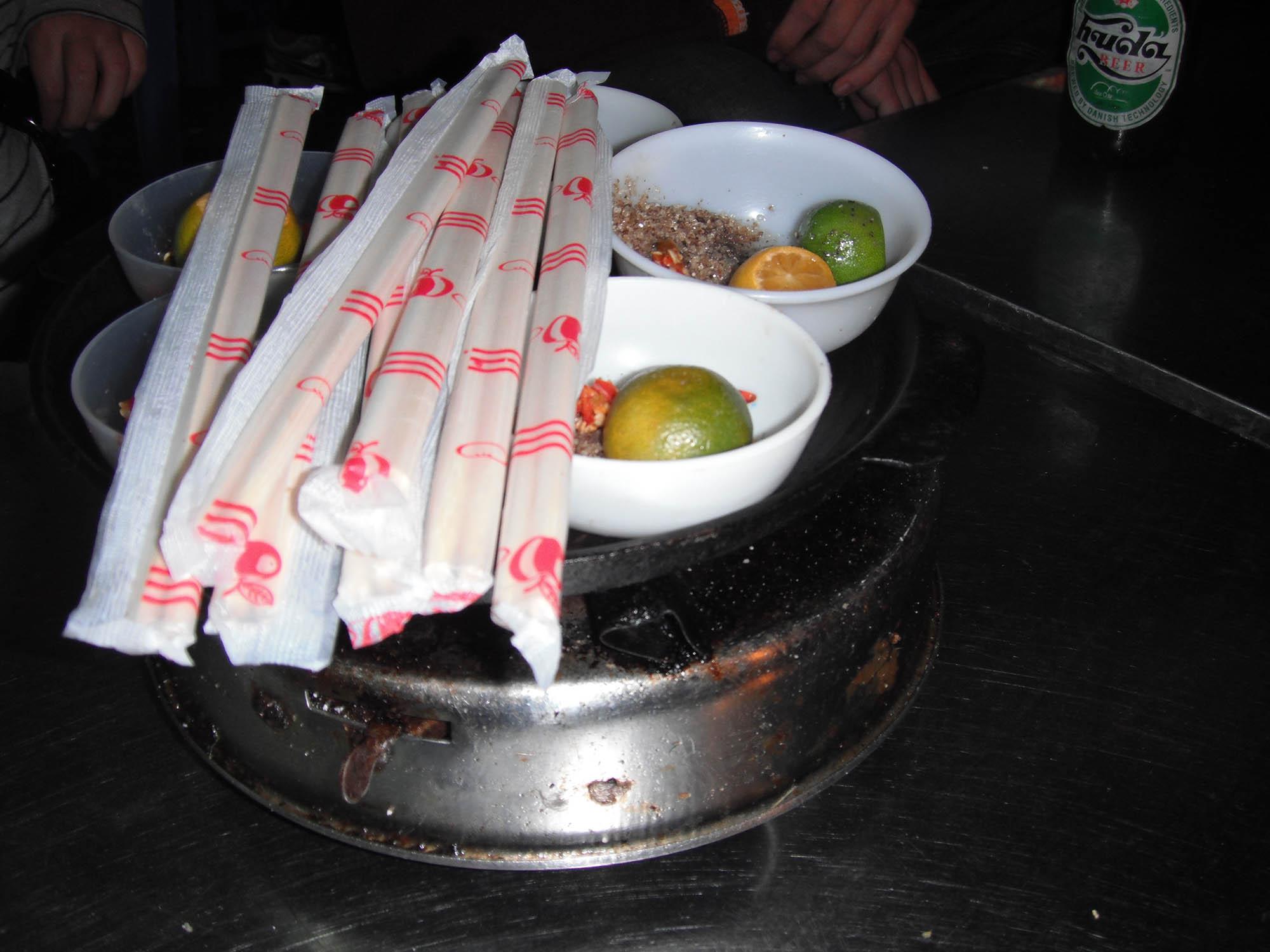 Street food in Hanoi, Vietnam