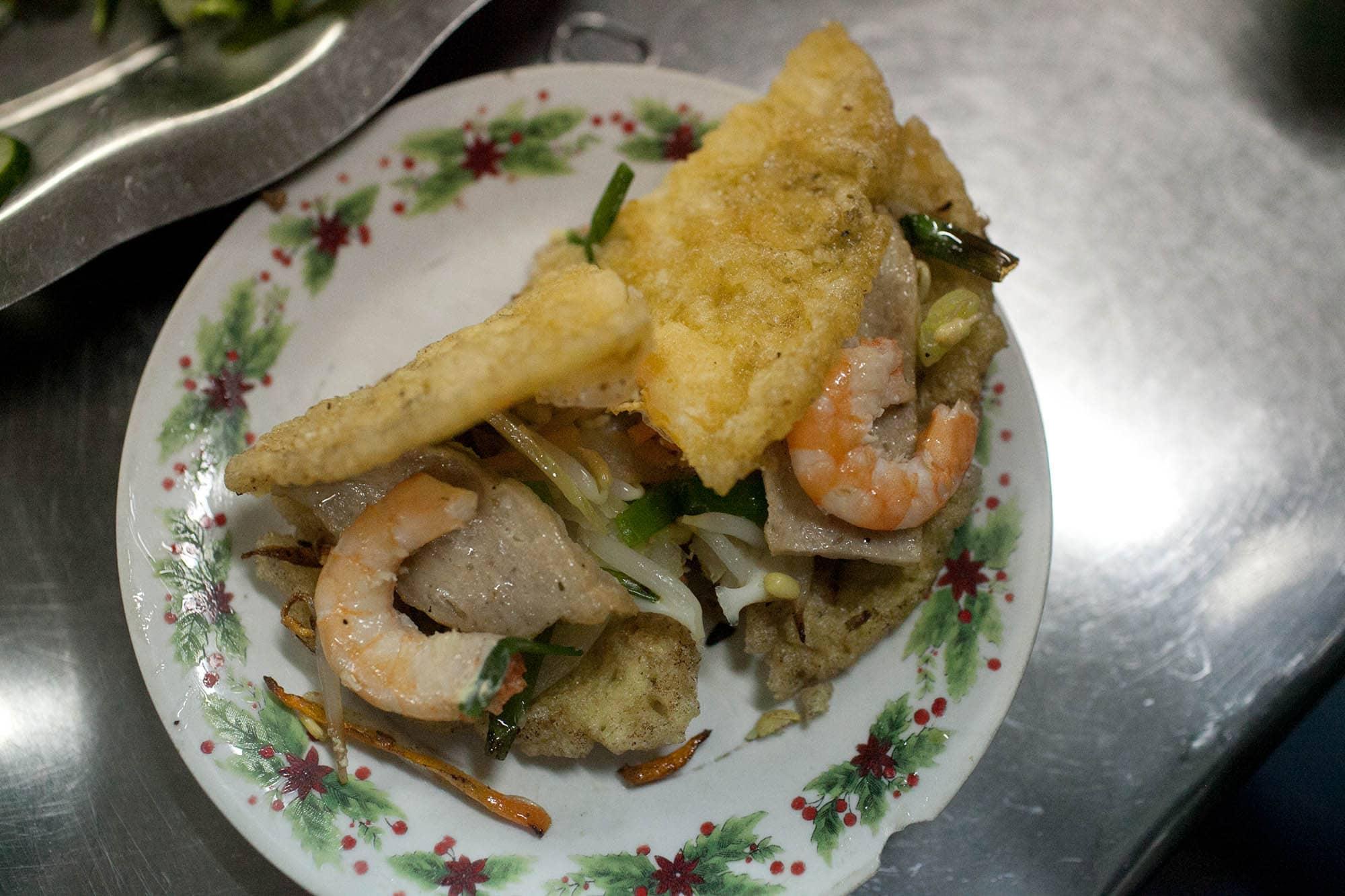 Dinner in Hue, Vietnam