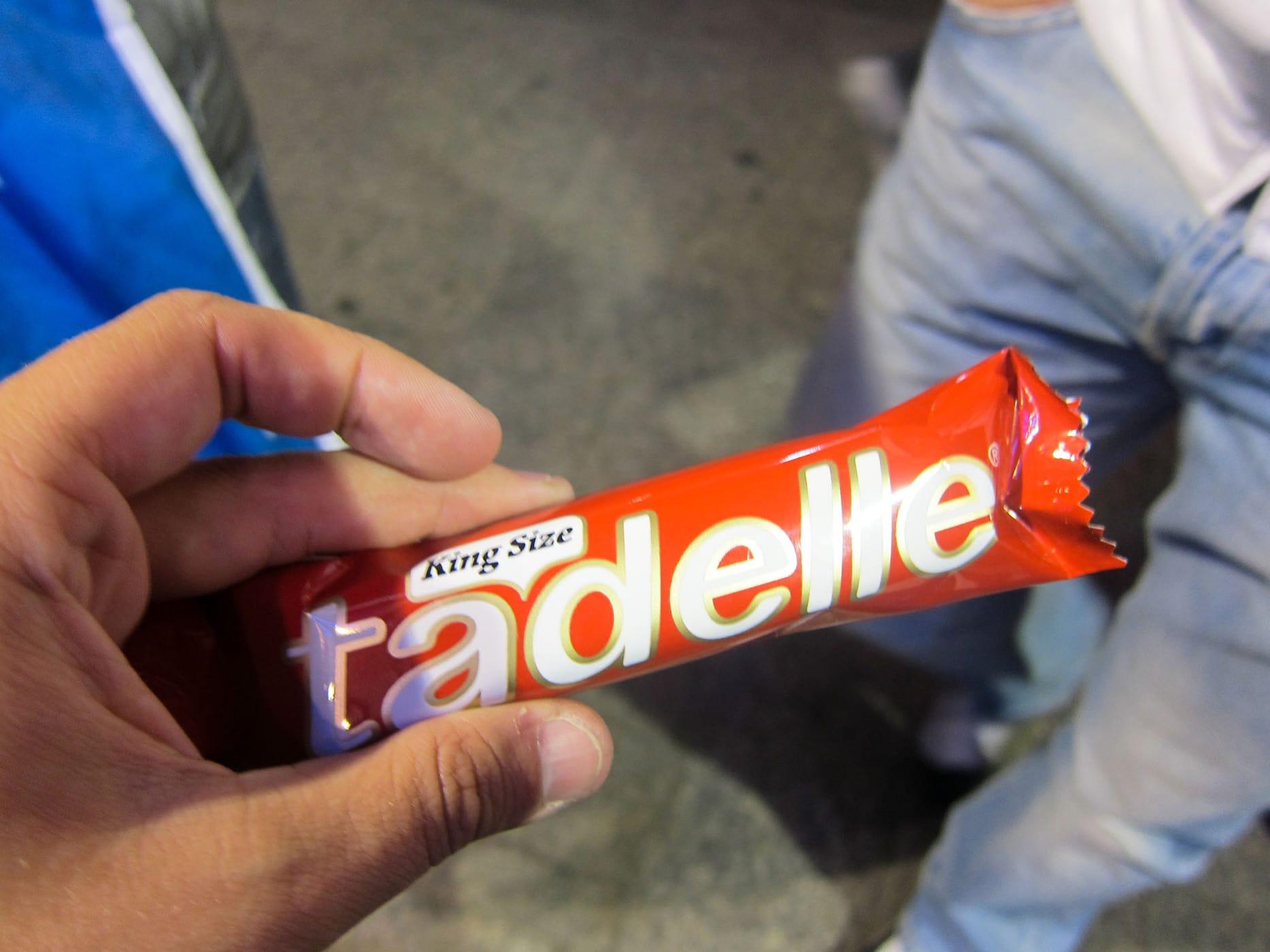 Tadelle candy bar in Istanbul, Turkey