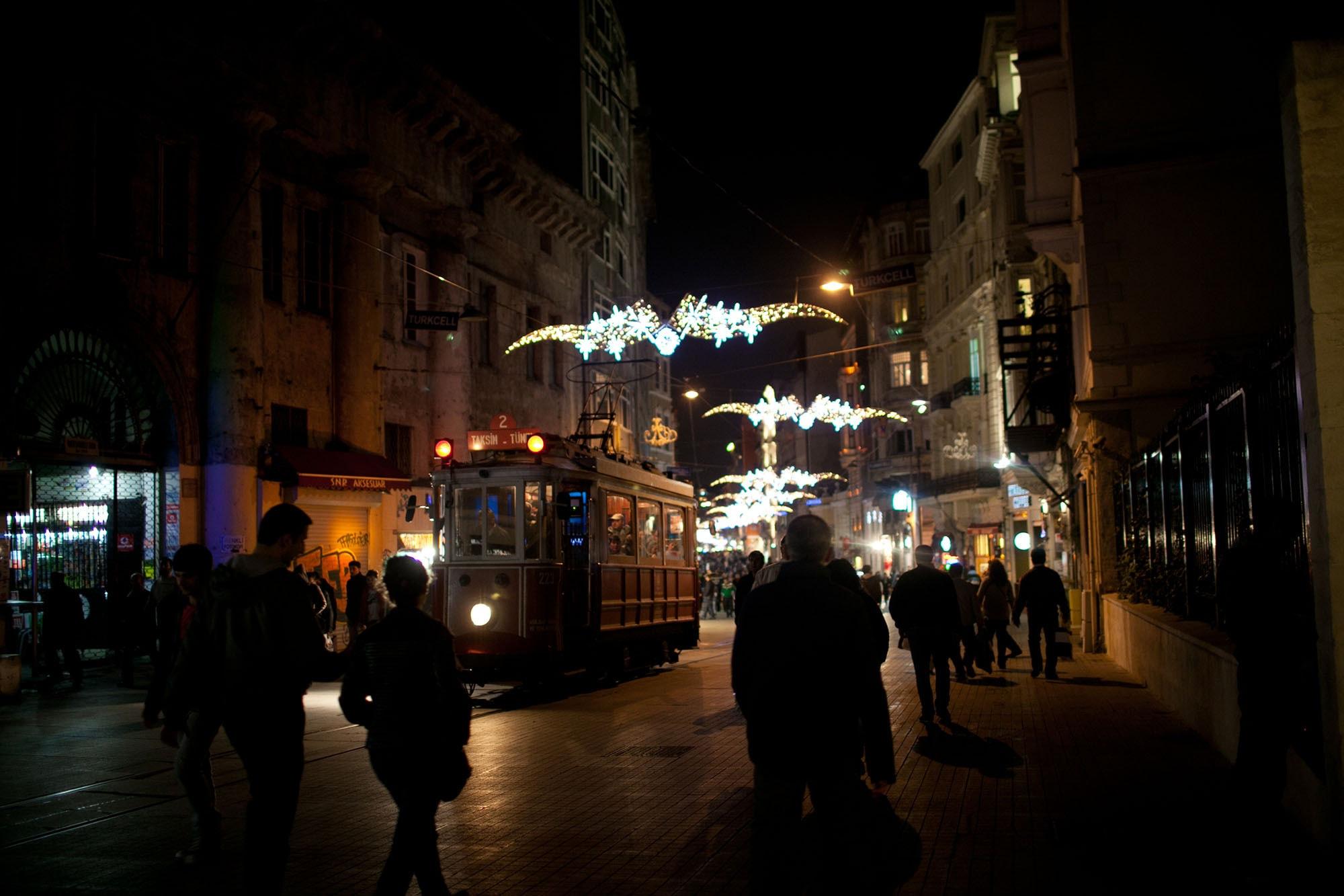 Taksim in Istanbul, Turkey.