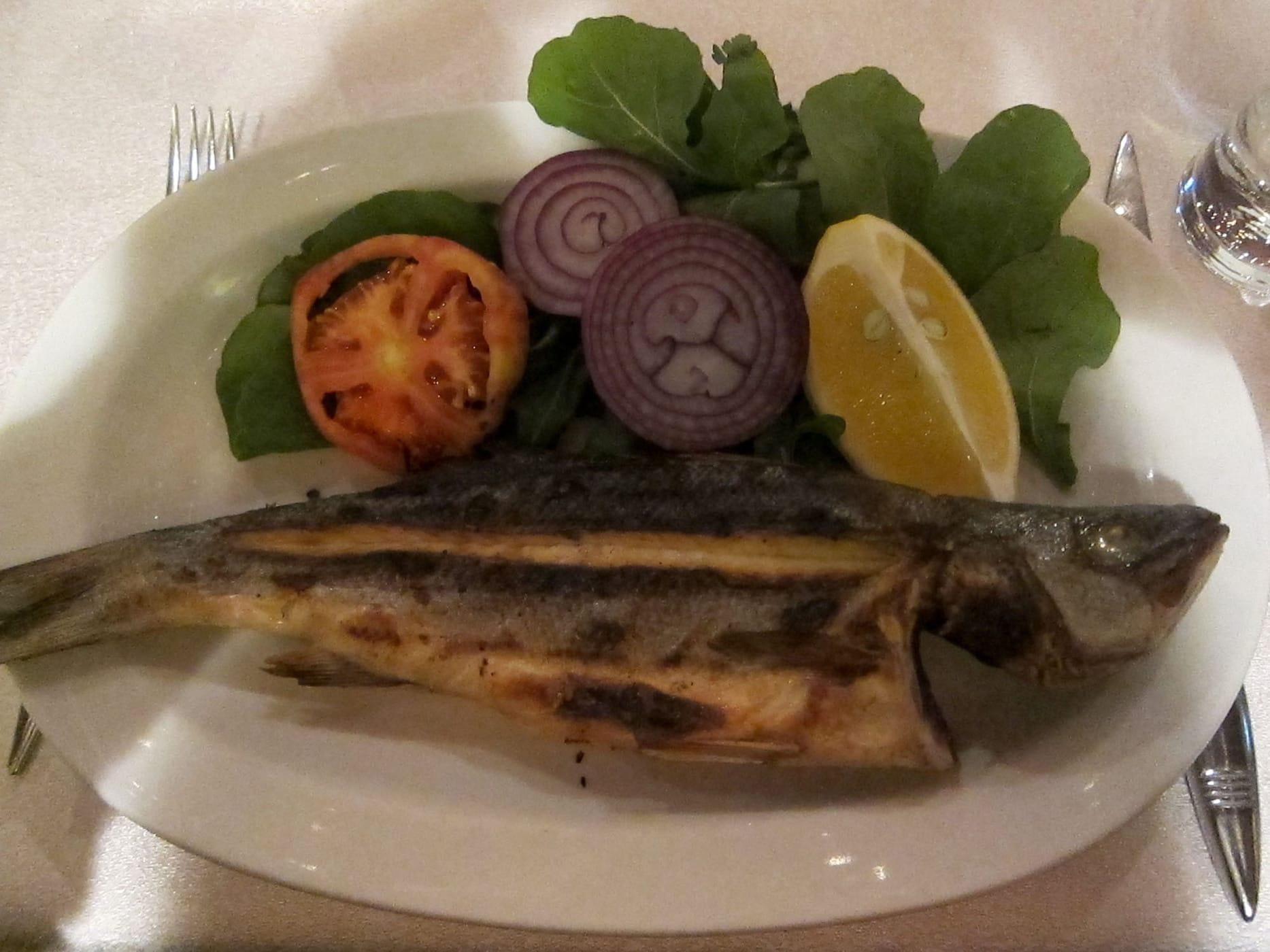 Fish in Istanbul, Turkey.