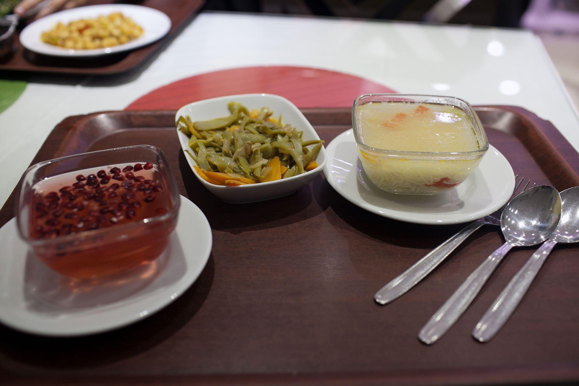 Dinner in Istanbul, Turkey.