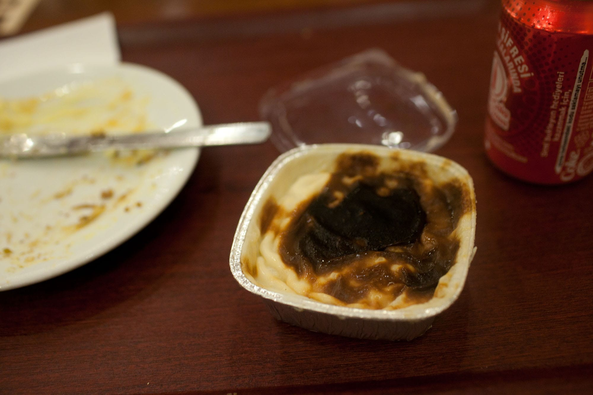 Rice pudding in Istanbul, Turkey