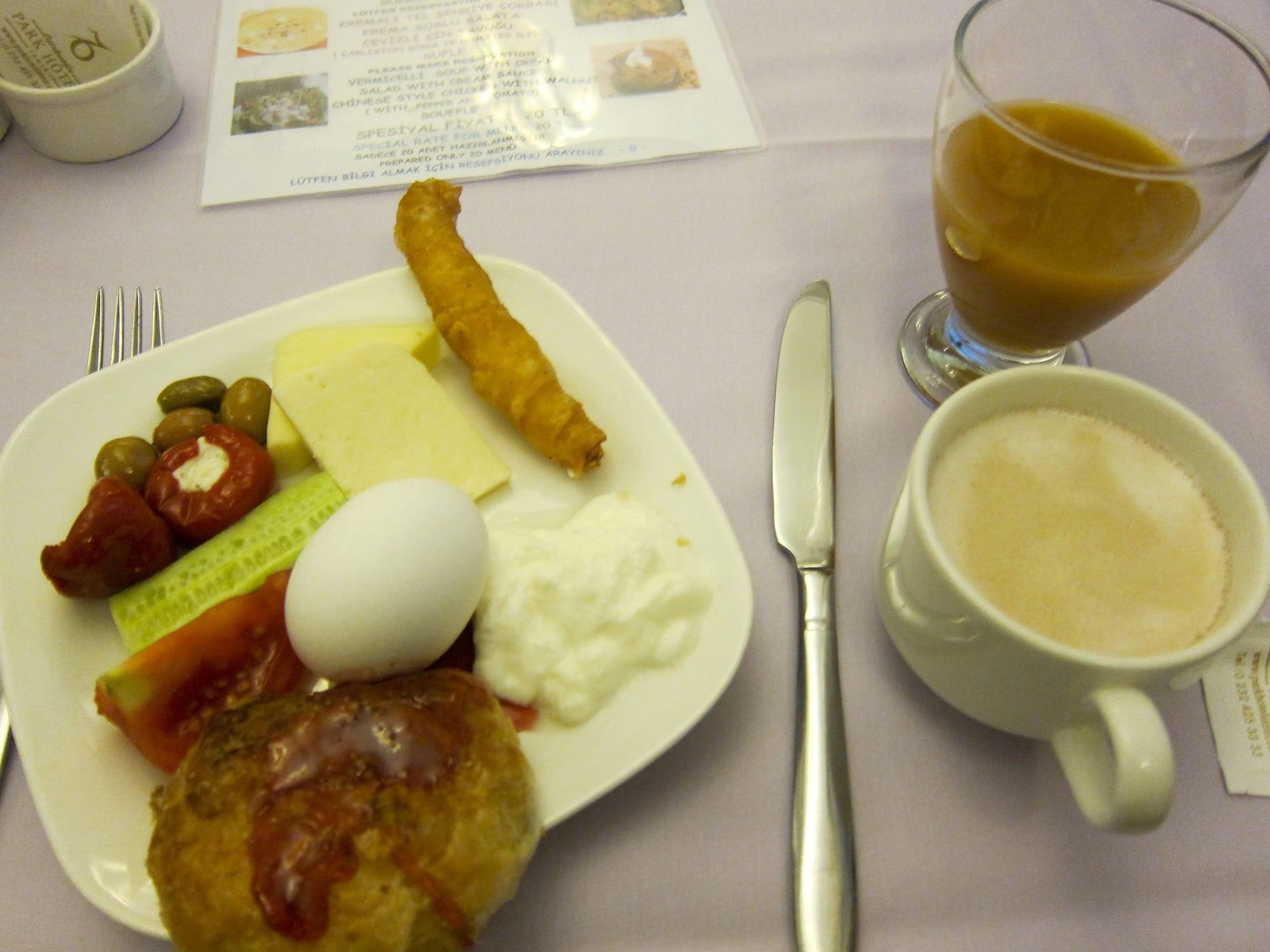 Breakfast in Izmir, Turkey