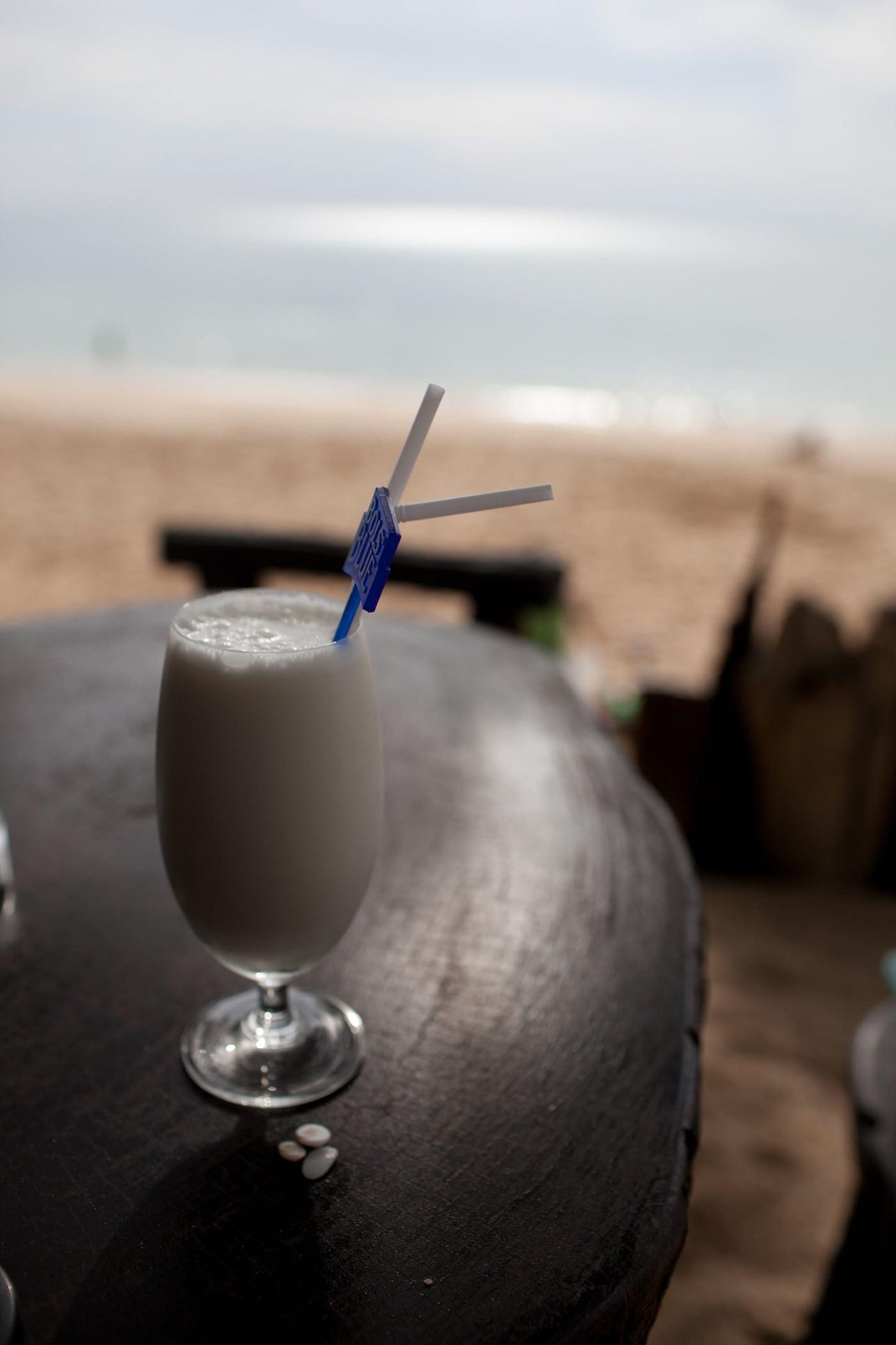 Beachy cocktails on Koh Lanta, Thailand