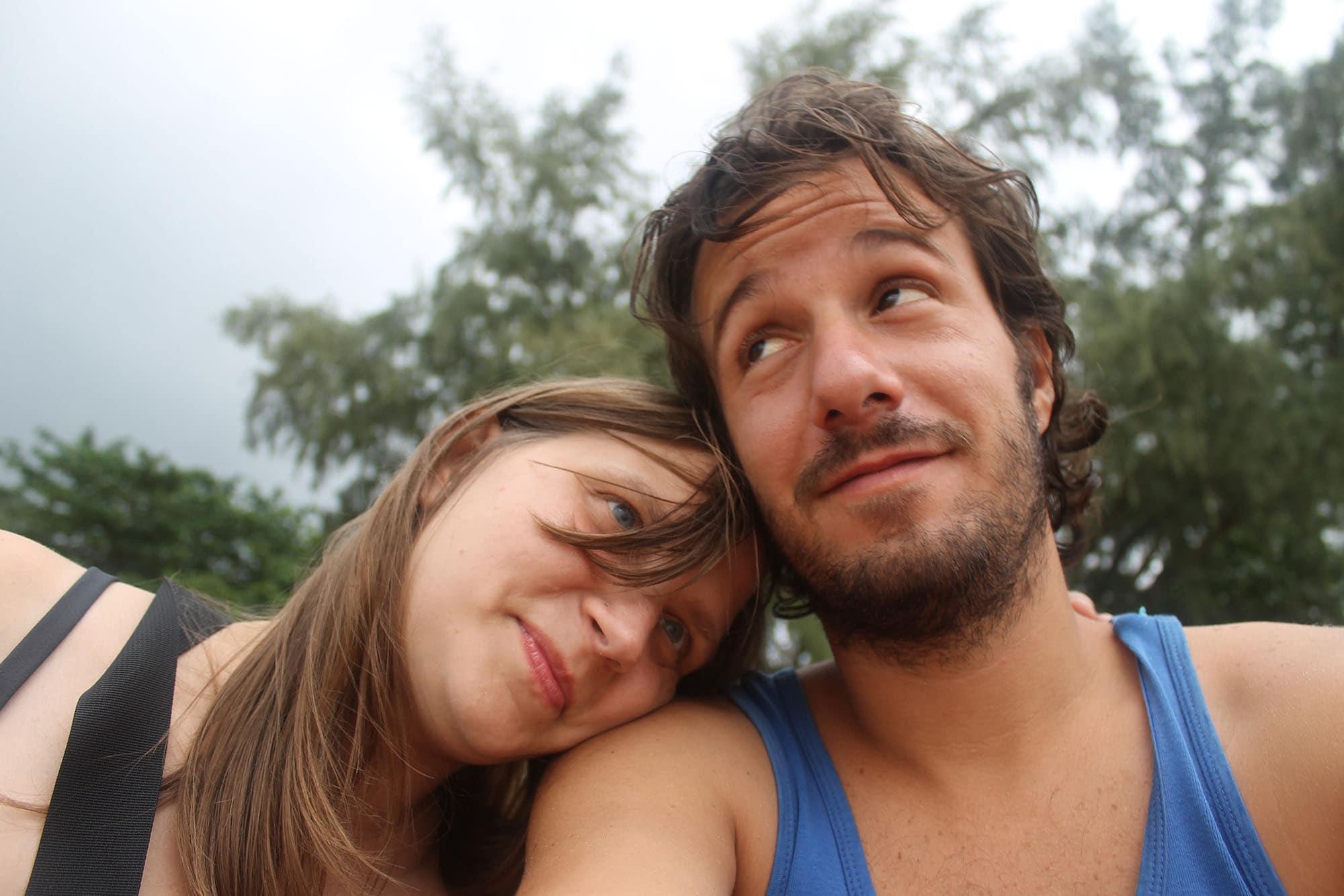 Romantic day with Gabriel on Koh Lanta, Thailand