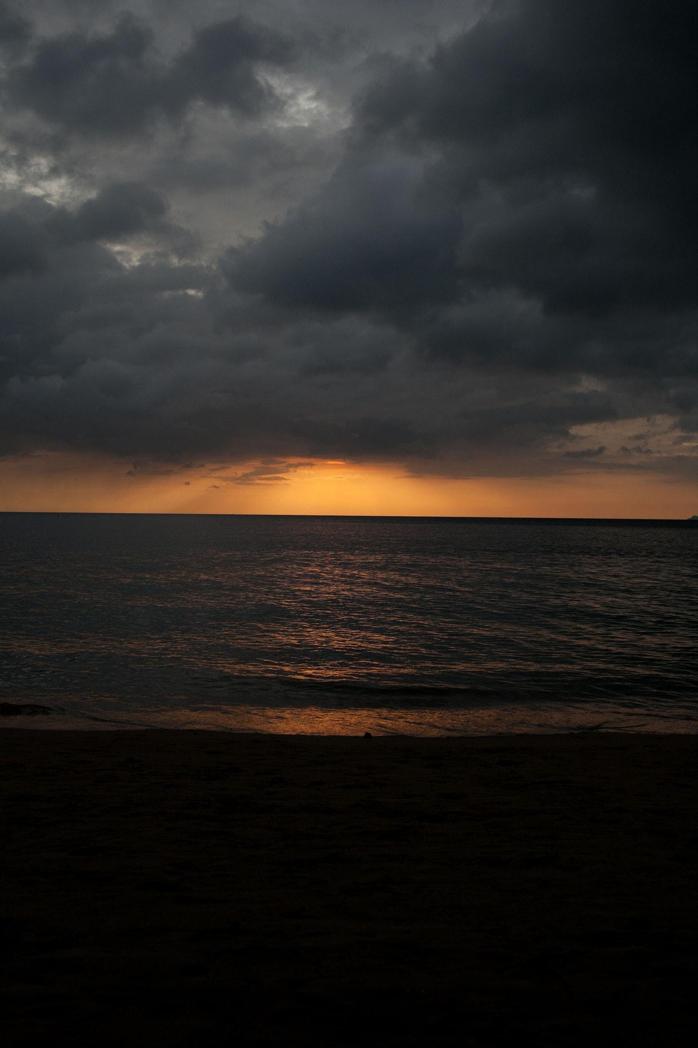 Sunset in Koh Lanta, Thailand