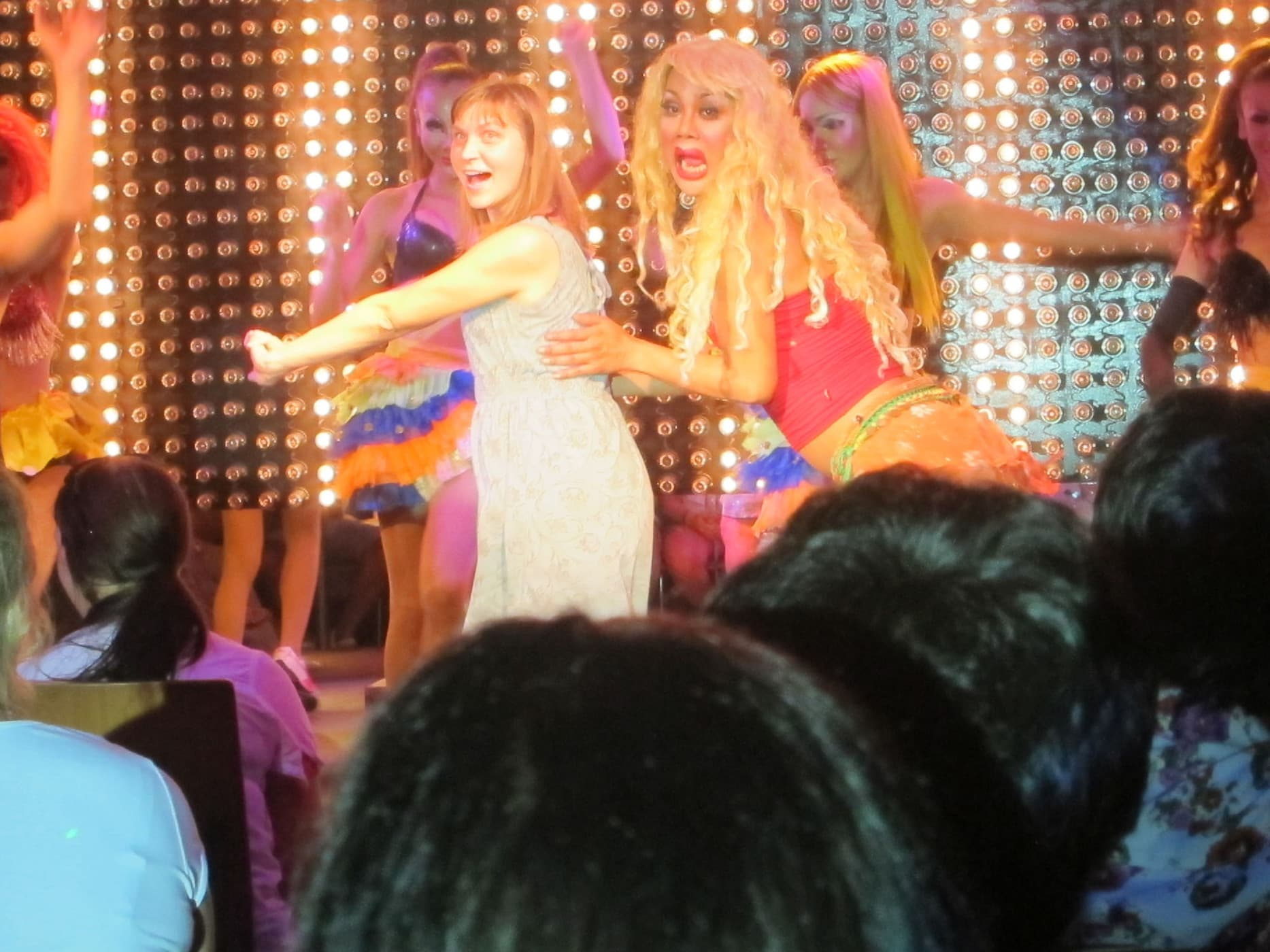 Me in a Ladyboy show.
