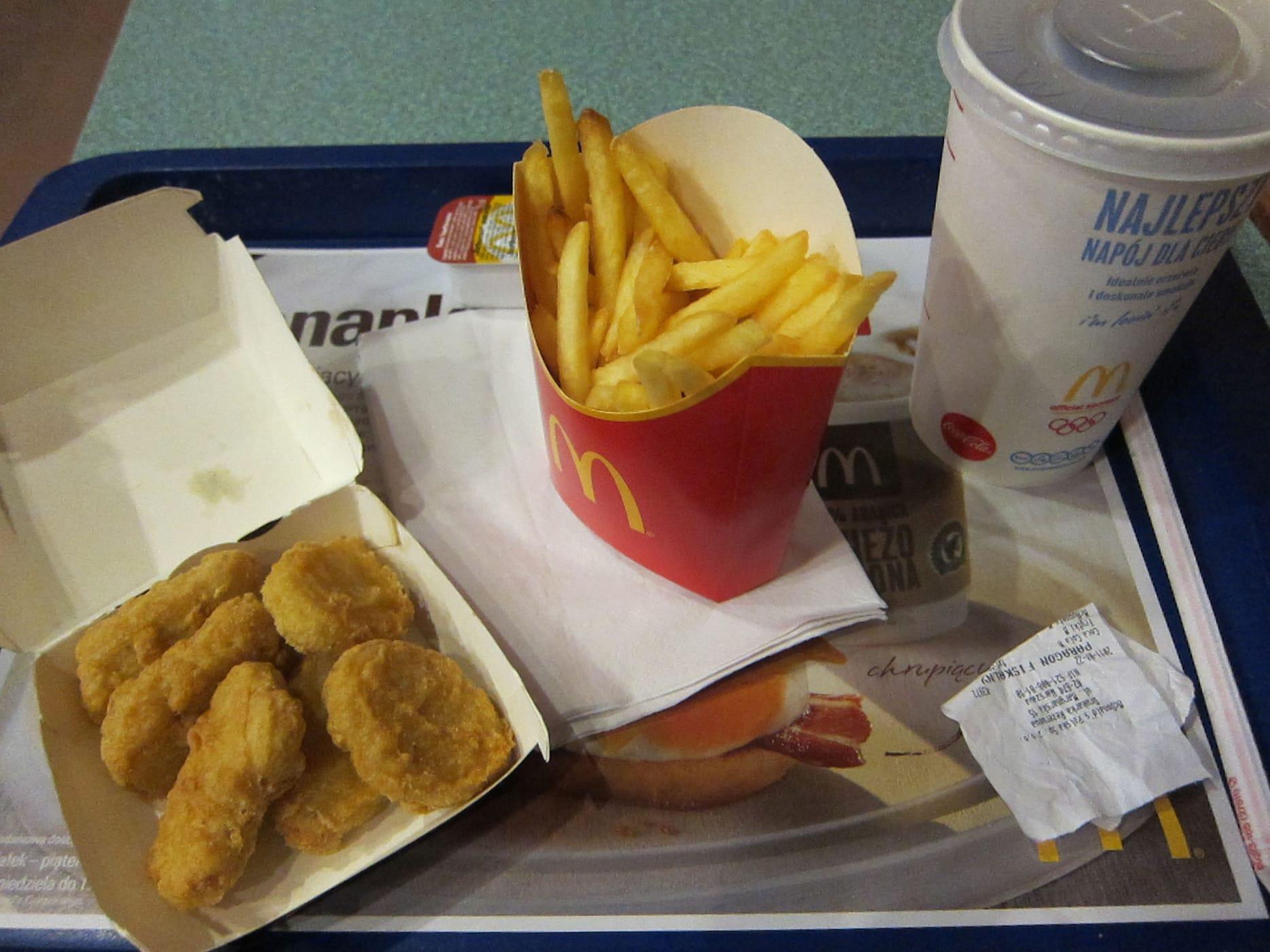 McDonalds in Krakow, Poland.