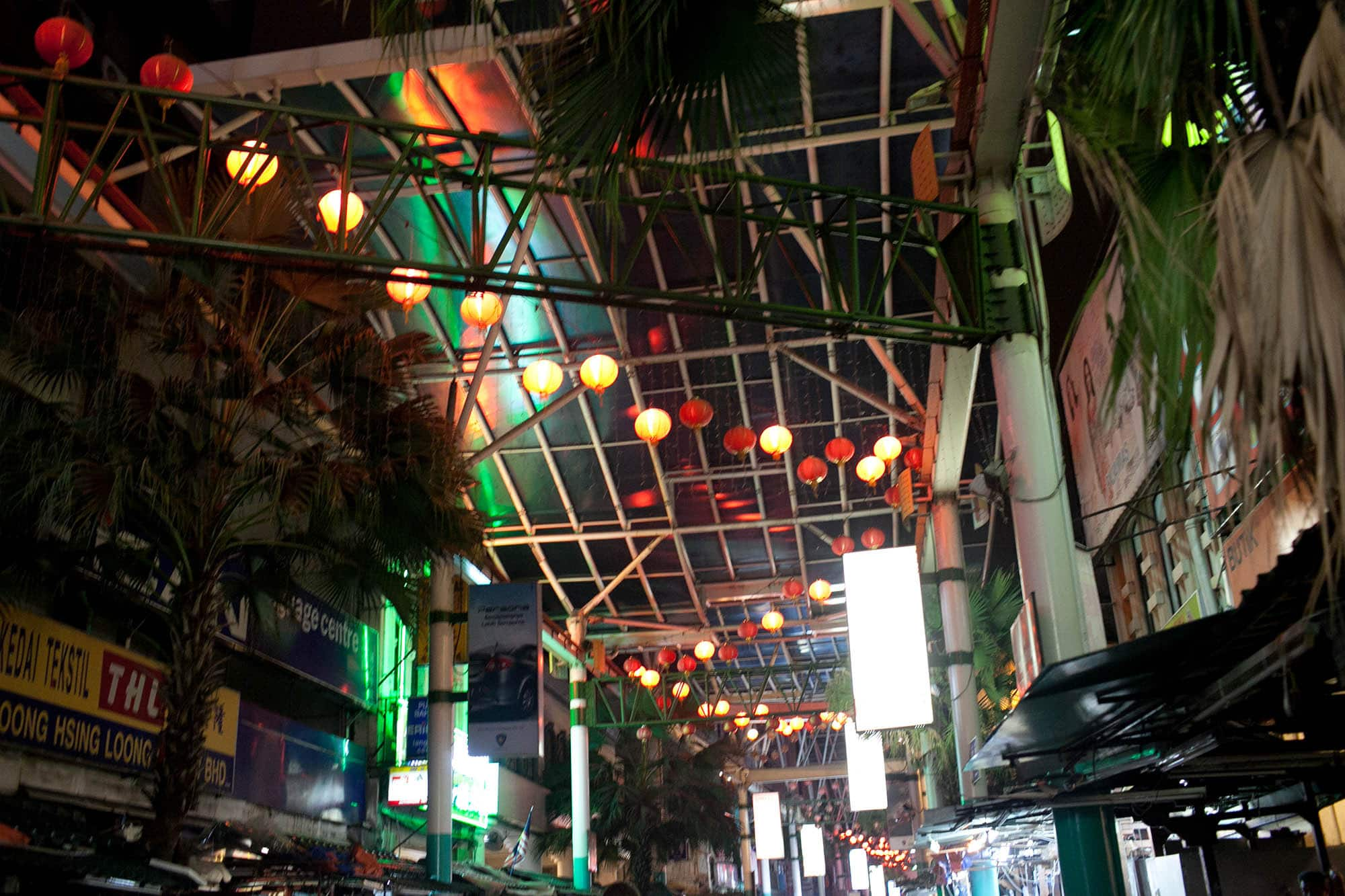 Chinatown in Kuala Lumpur