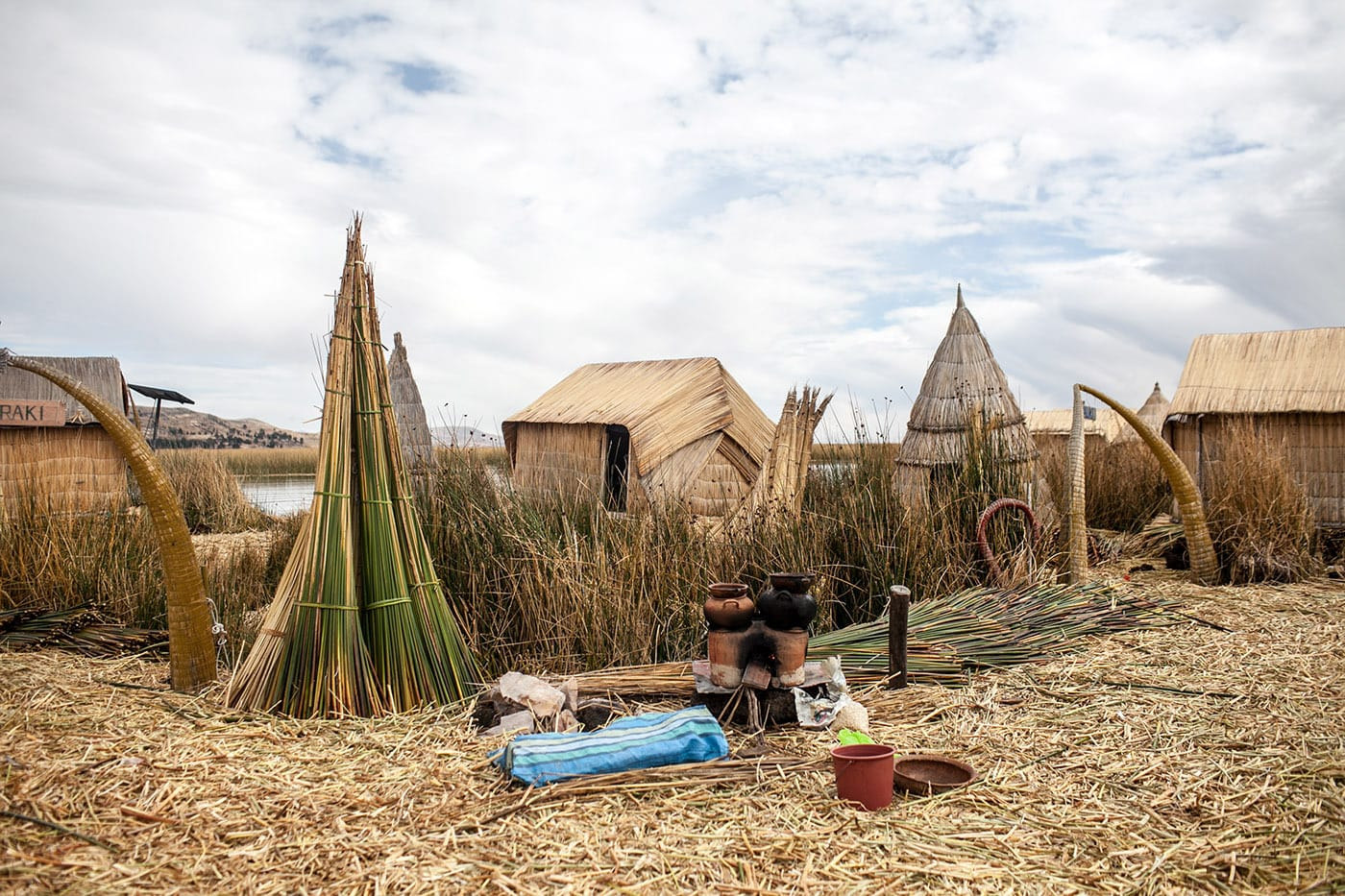 Uros, the floating islands - Lake Titicaca Peru