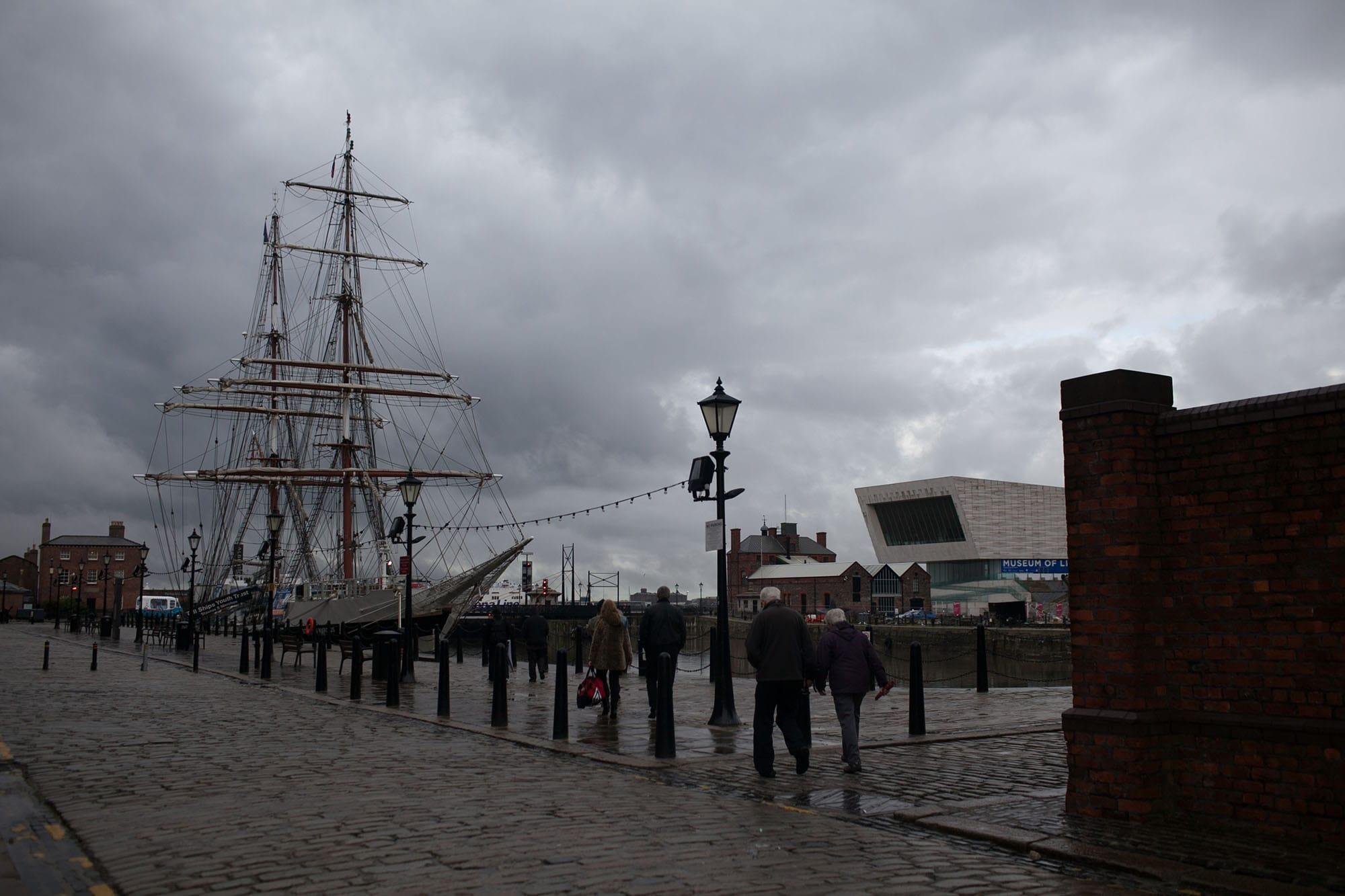 Albert Dock in Liverpool, England