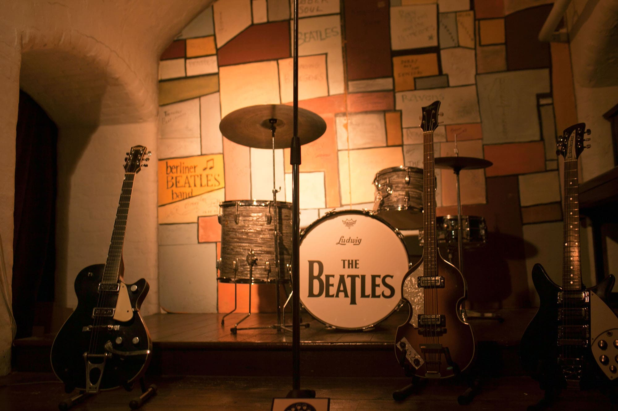 The Beatles Story in Liverpool, England