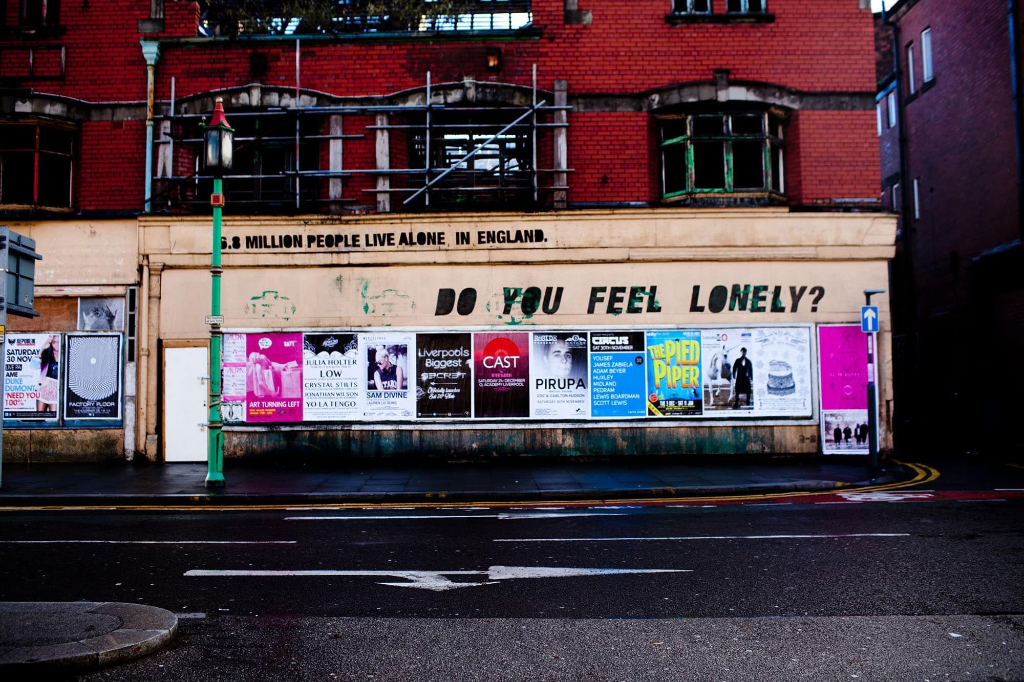 Do you feel lonely in Liverpool, England