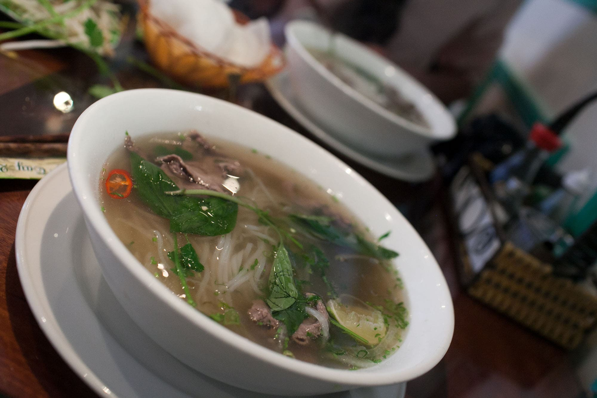 Pho at Mien Tay in London, England