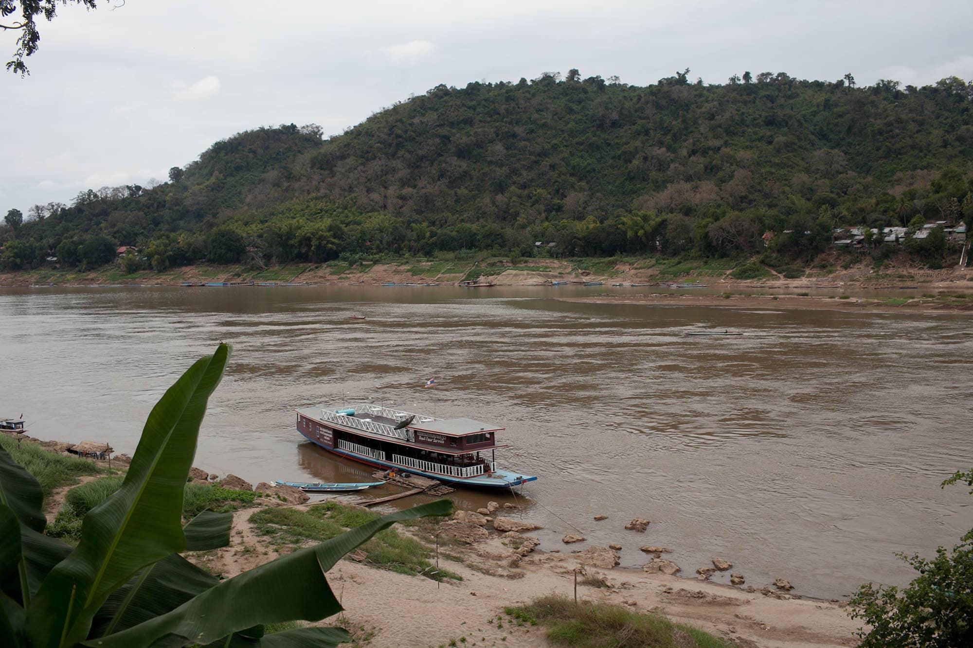River in Luang Prabang, Laos.