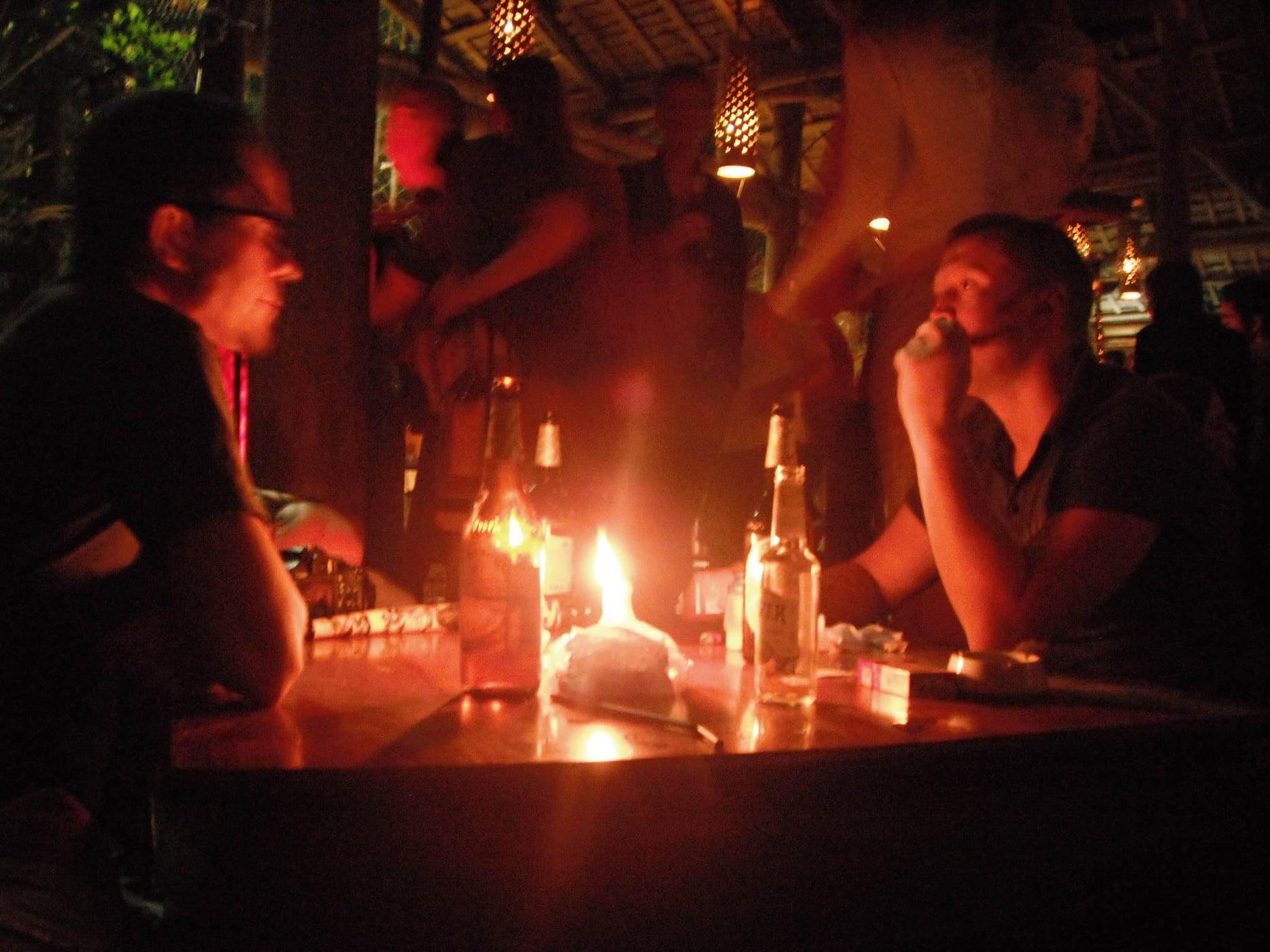 Utopia bar in Luang Prabang, Laos