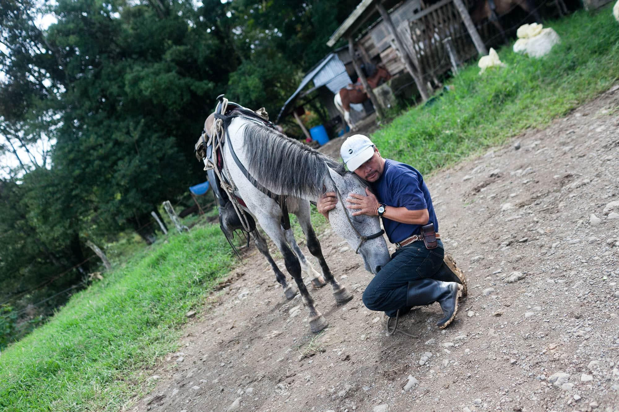 Horseback riding in Monteverde, Costa Rica